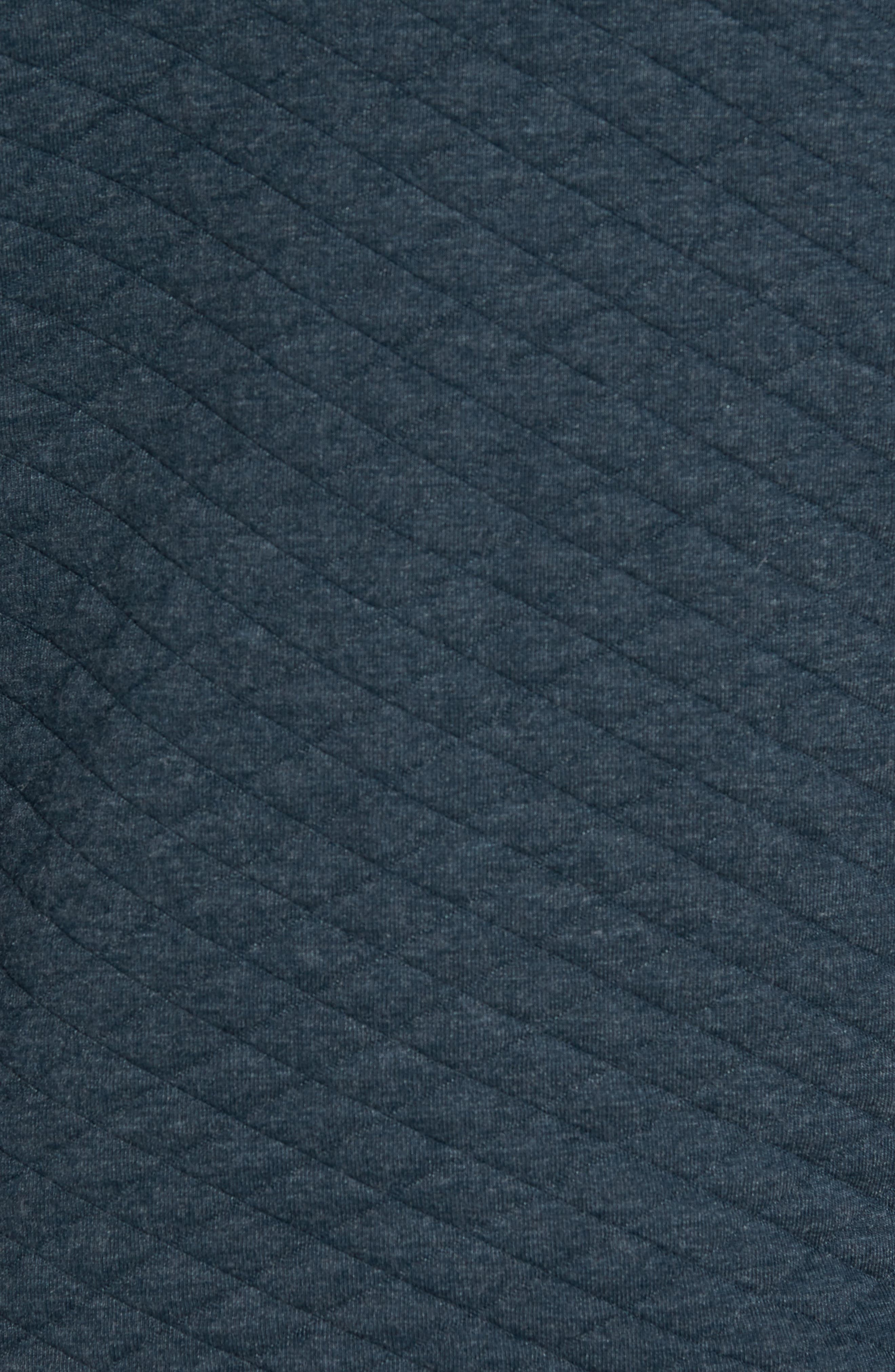 Shawl Collar Pullover,                             Alternate thumbnail 5, color,                             Carbon Blue