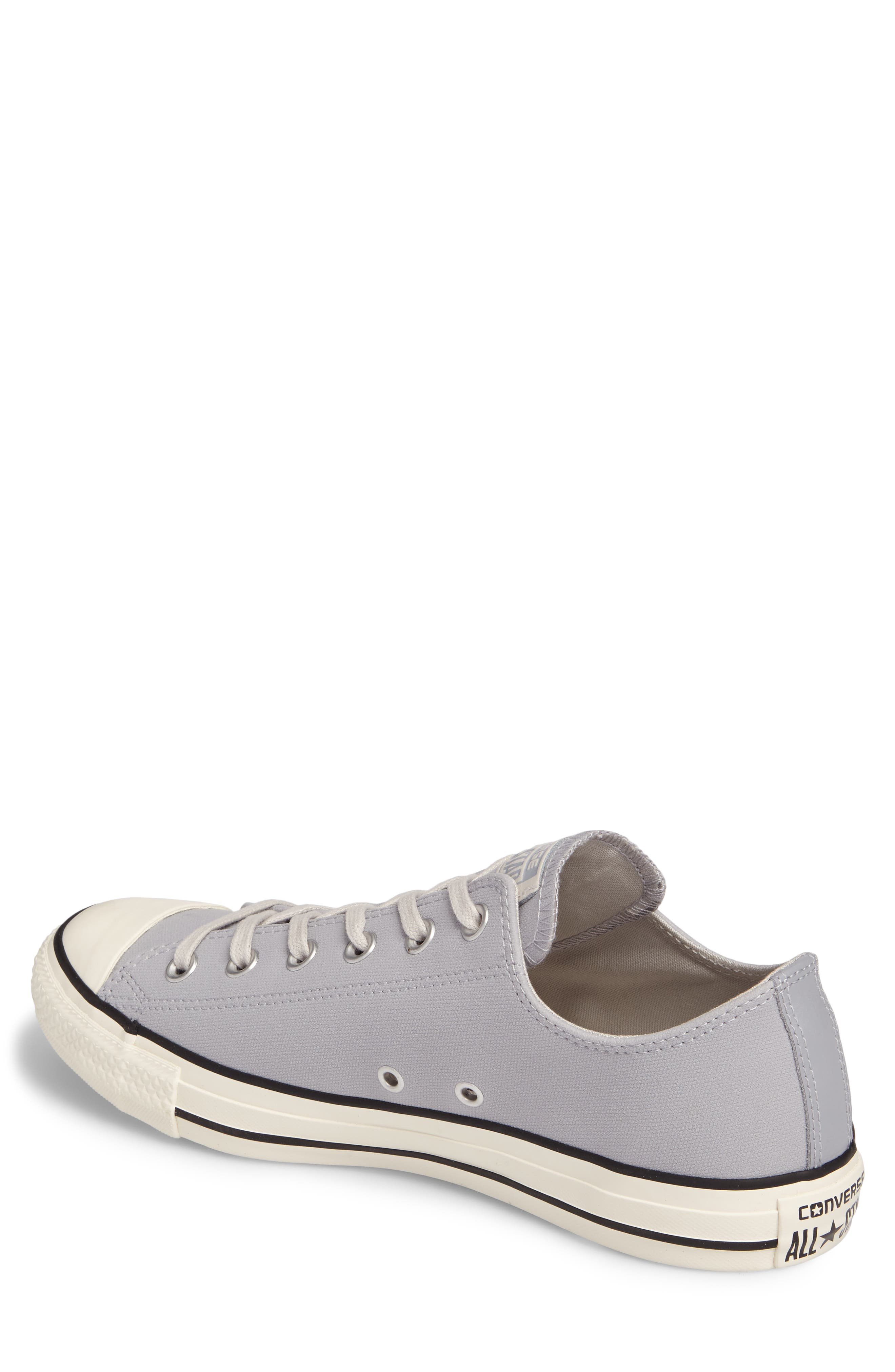 Chuck Taylor<sup>®</sup> All Star<sup>®</sup> Lo Sneaker,                             Alternate thumbnail 2, color,                             Wolf Grey