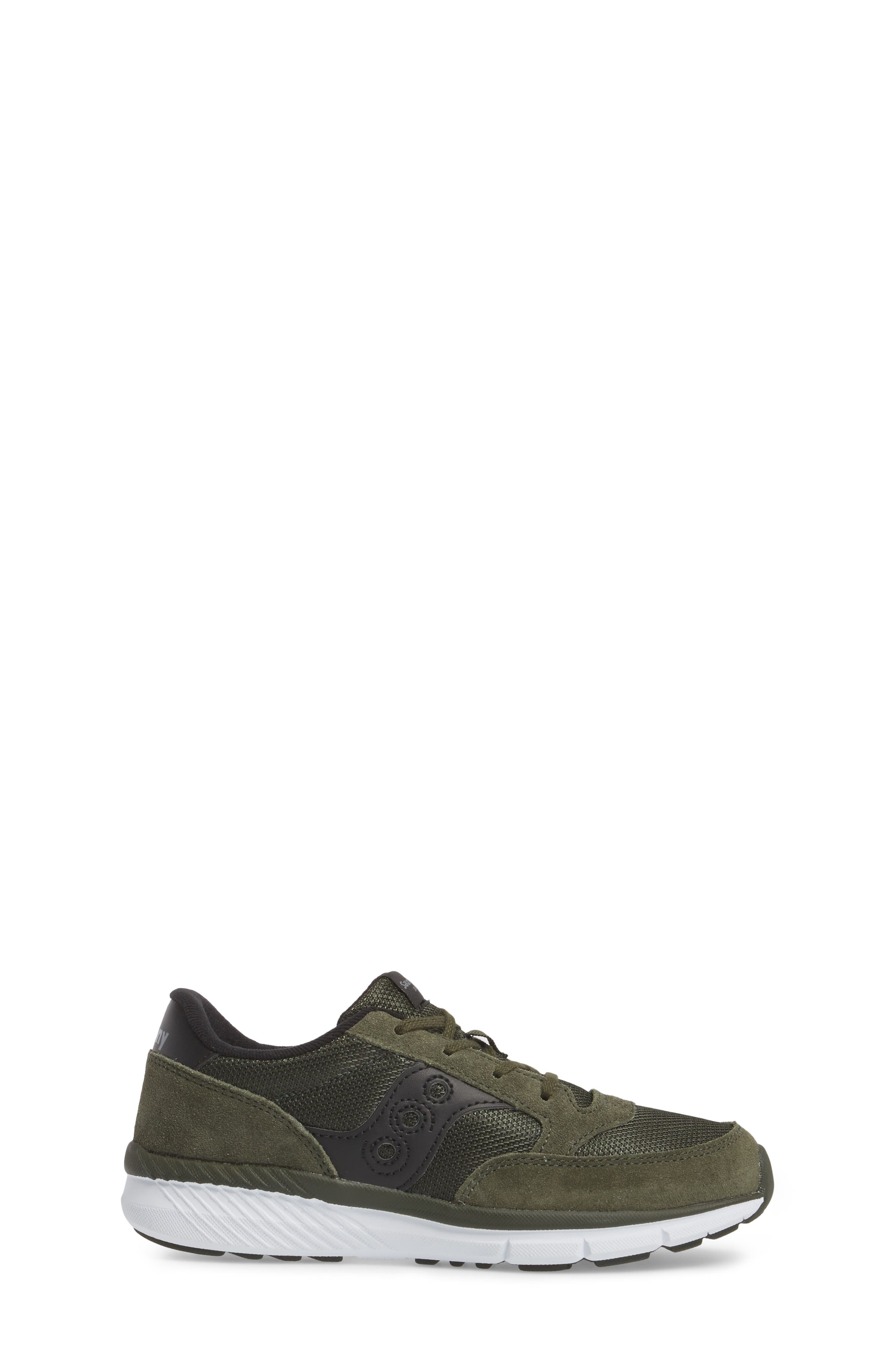 Jazz Lite Sneaker,                             Alternate thumbnail 3, color,                             Olive