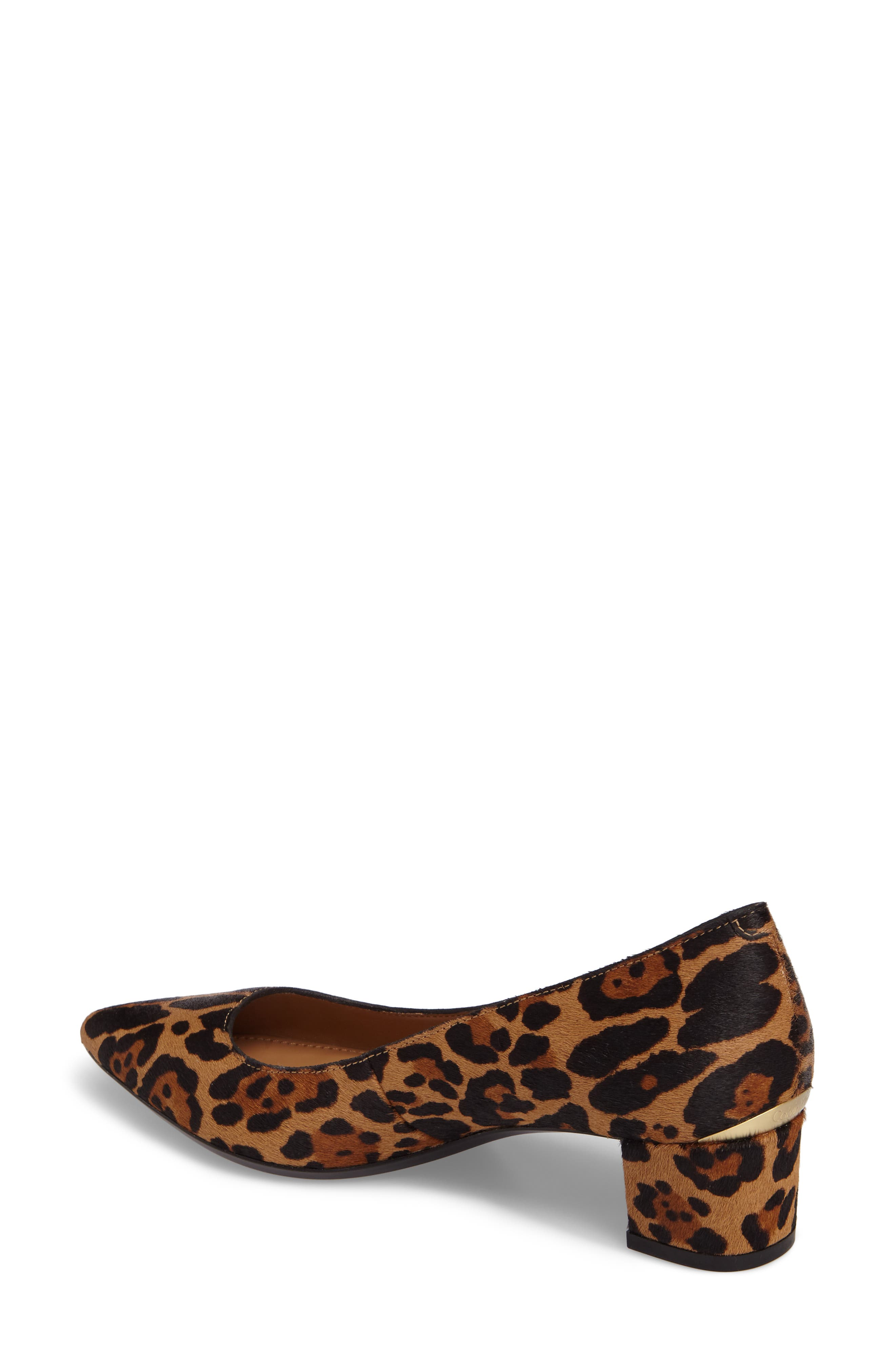Genoveva Pump,                             Alternate thumbnail 2, color,                             Natural Leopard Hair Calf