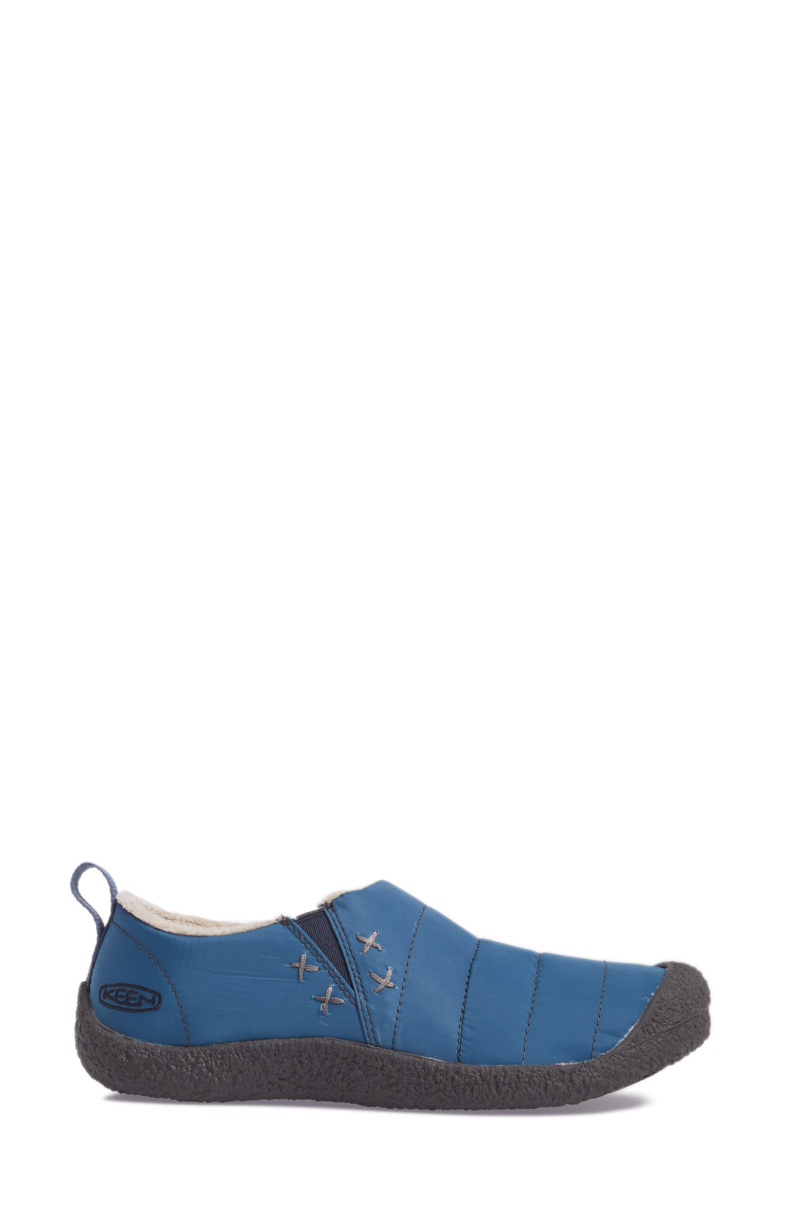 Howser II Water-Resistant Round Toe Clog,                             Alternate thumbnail 3, color,                             Captains Blue Nylon