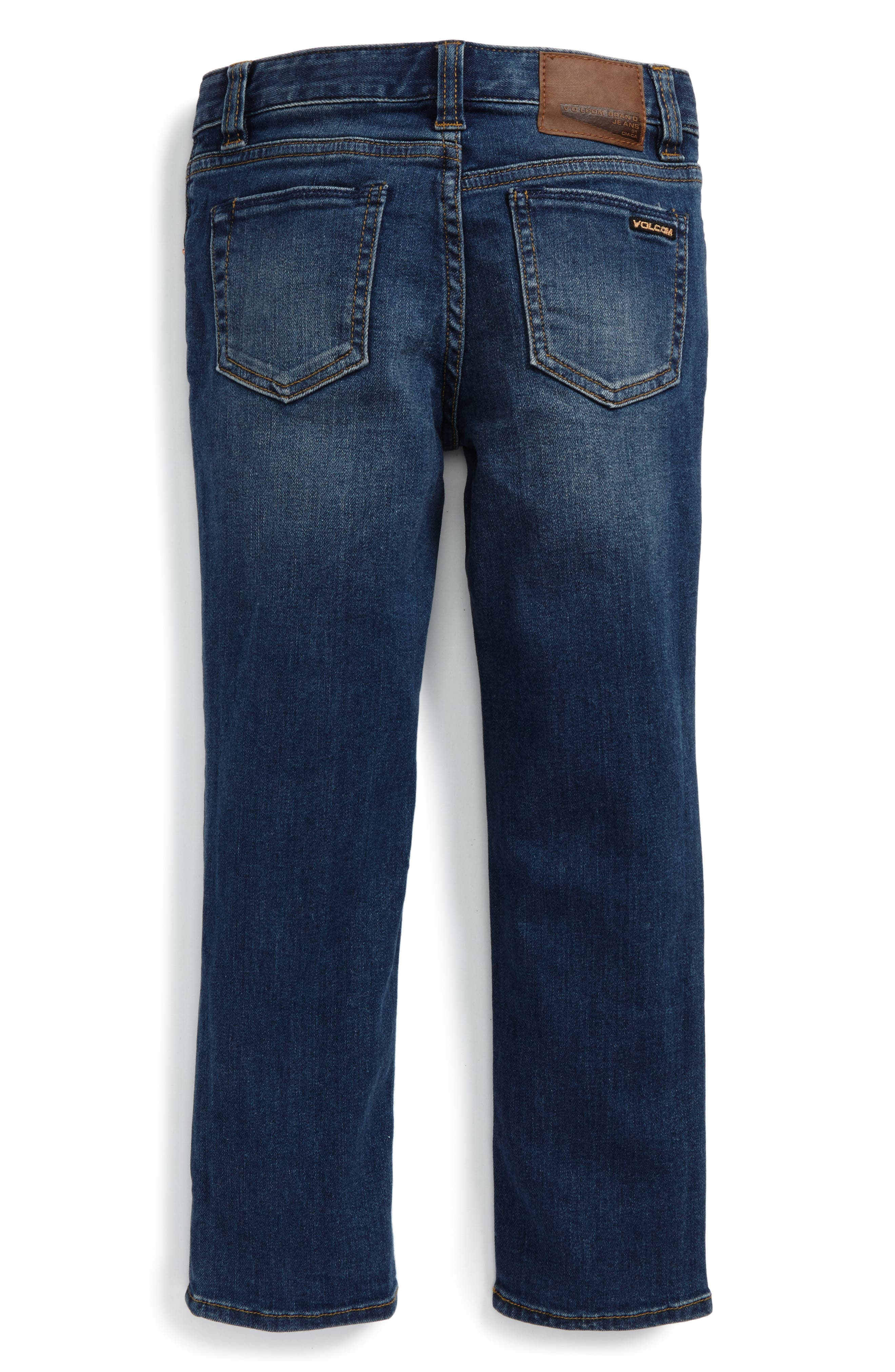 Alternate Image 2  - Volcom 'Vorta' Slim Fit Jeans (Toddler Boys & Little Boys)