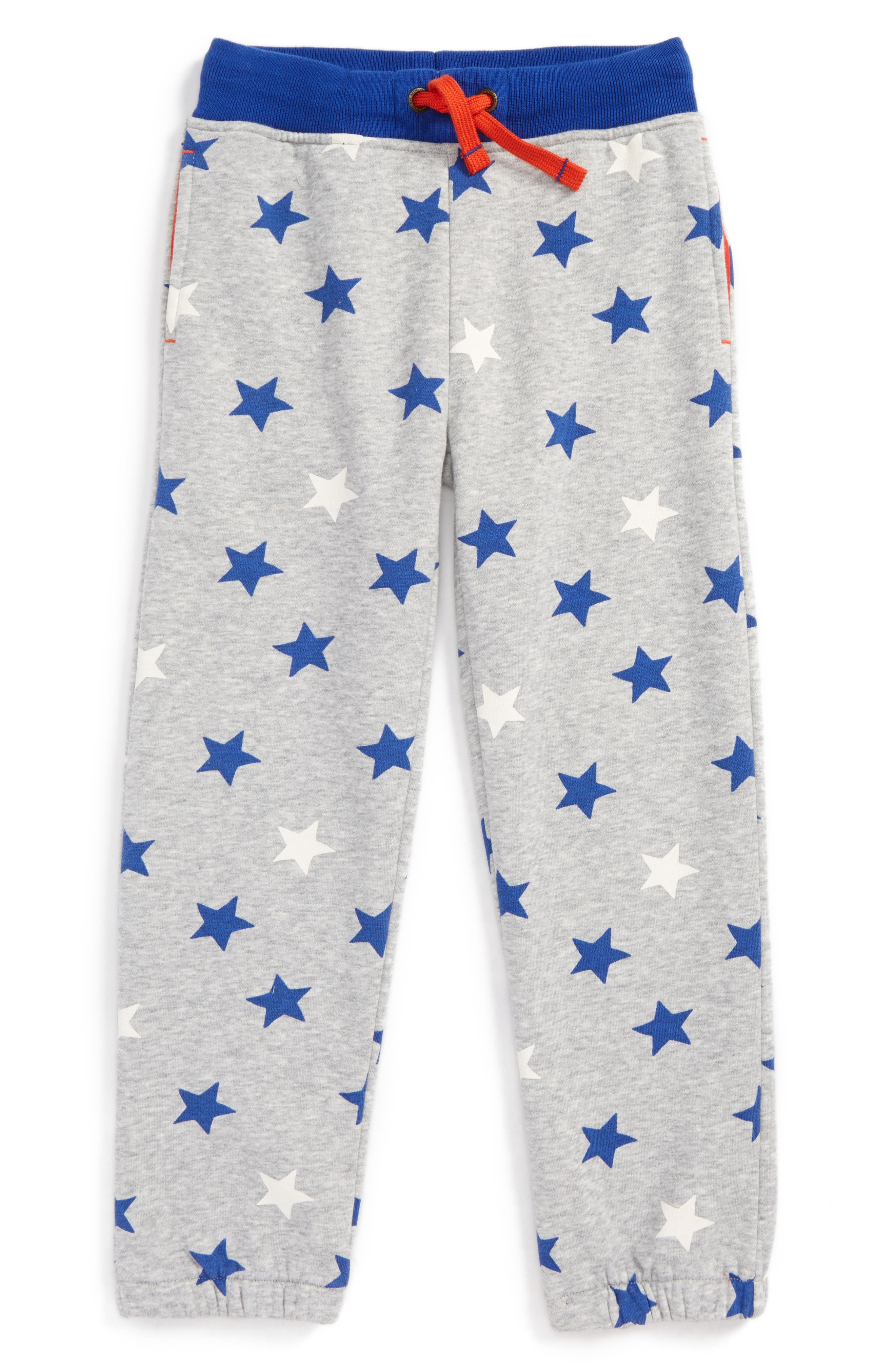 Fun Track Pants,                         Main,                         color, Grey Marl Star