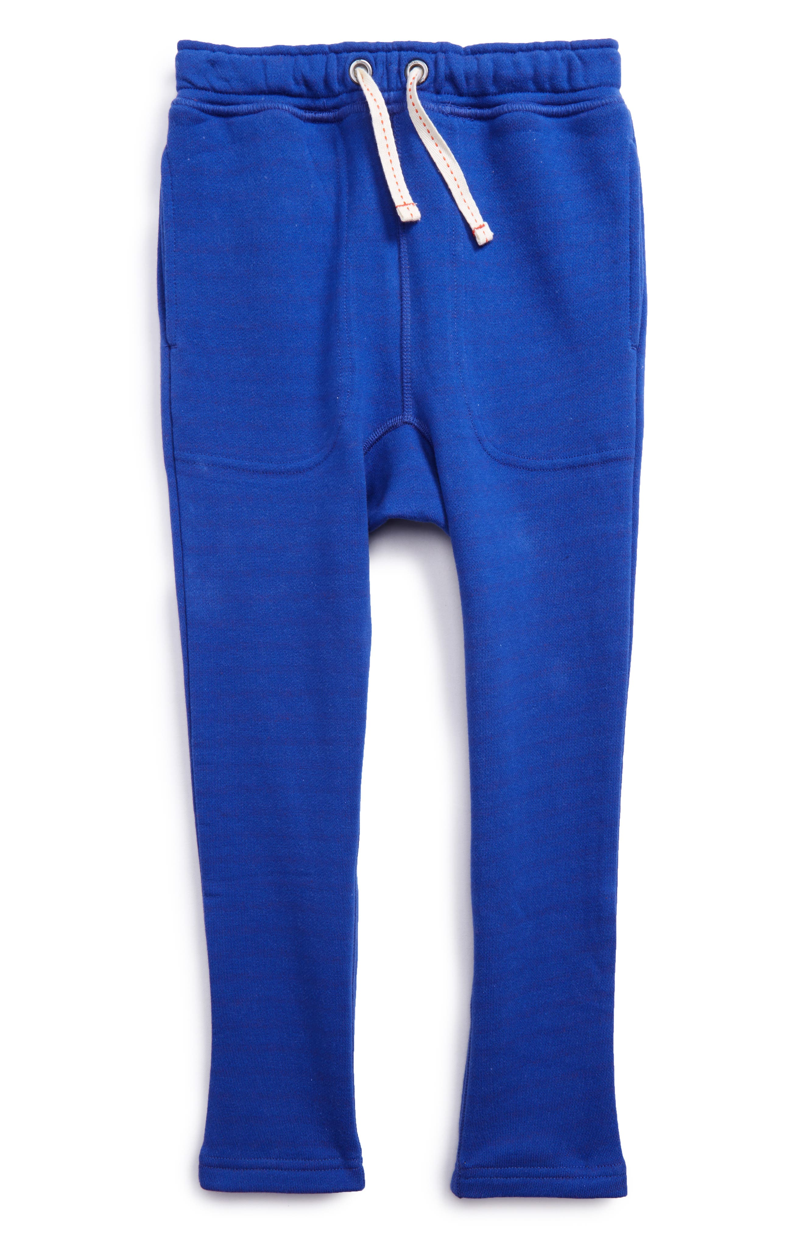 Slouch Sweatpants,                         Main,                         color, Klein Blue