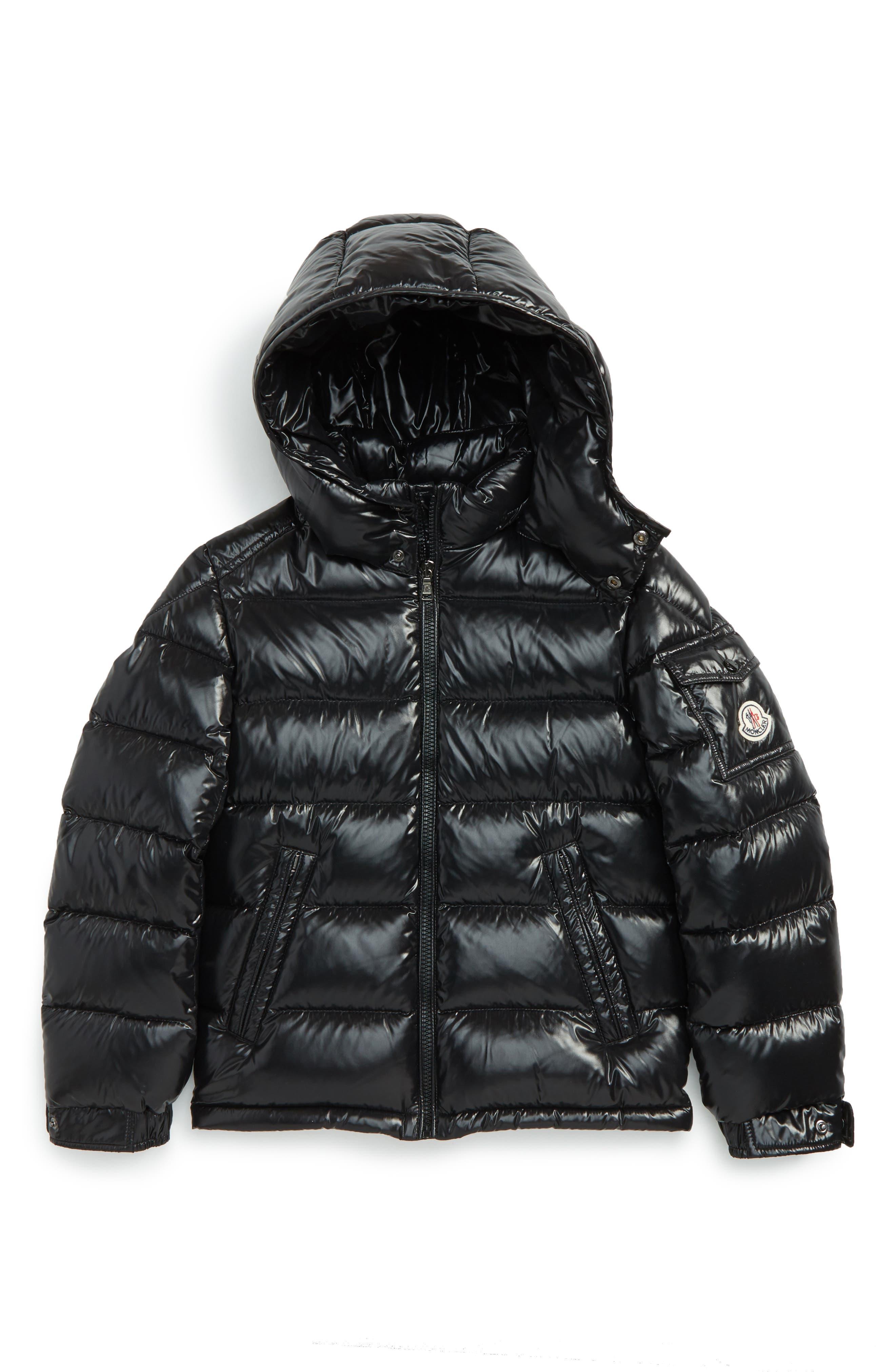 Moncler Maya Hooded Down Jacket (Little Boys & Big Boys)