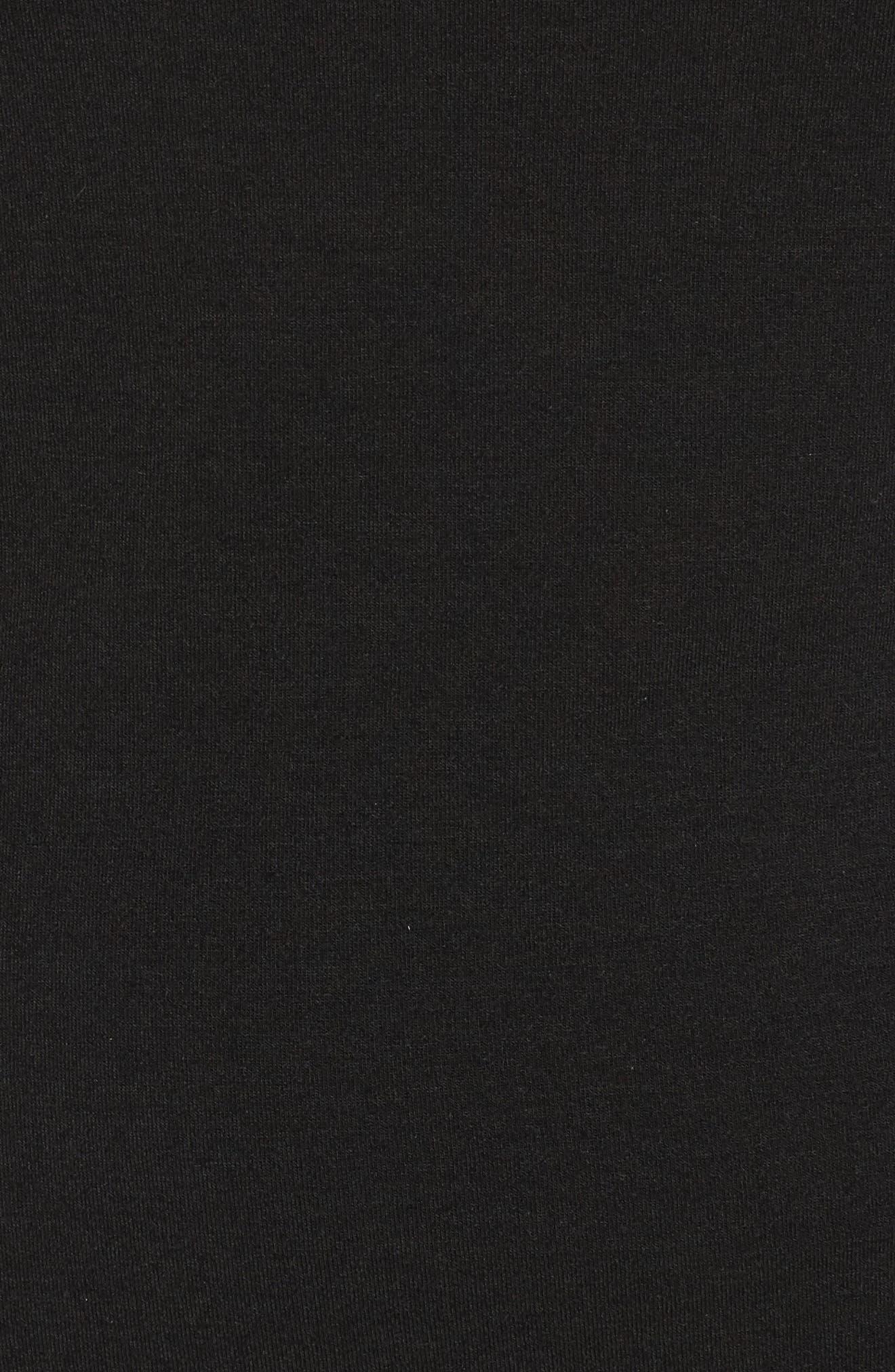 Alternate Image 5  - Treasure & Bond Side Ruched Knit Sheath Dress