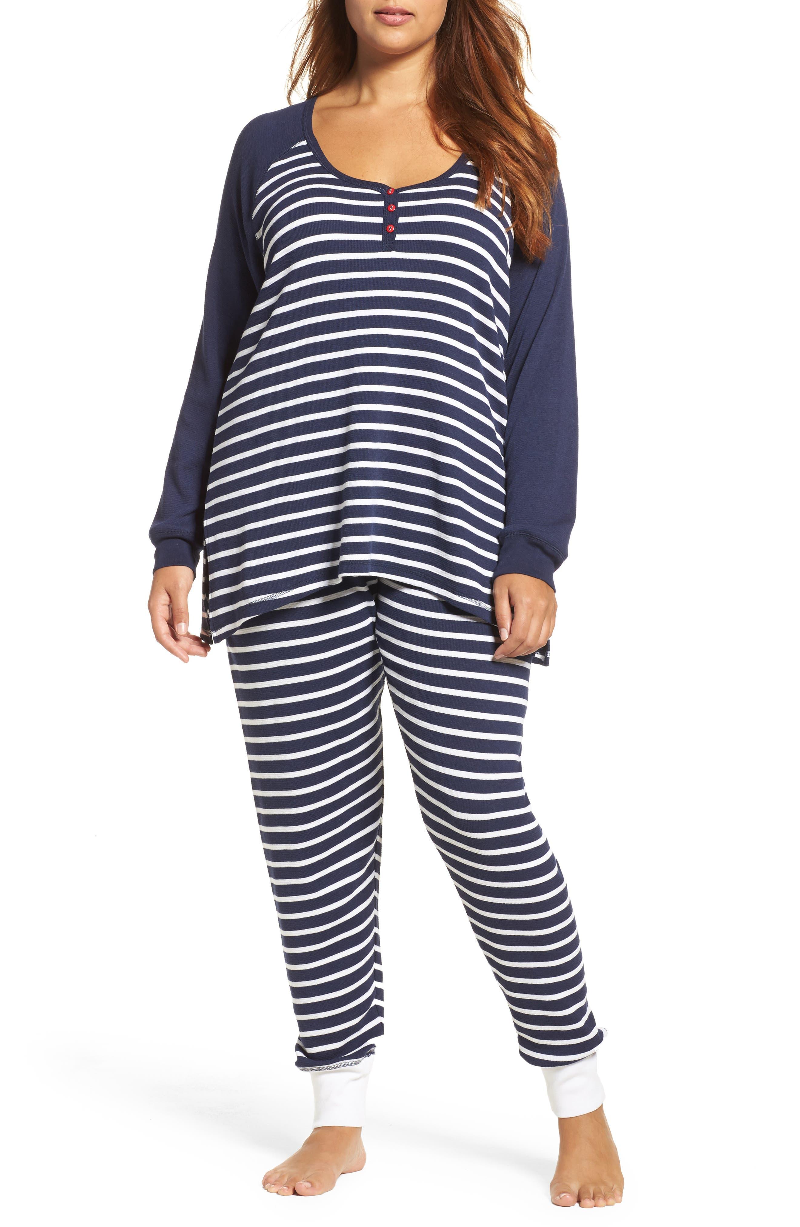 PJ Salvage Thermal Pajamas (Plus Size)