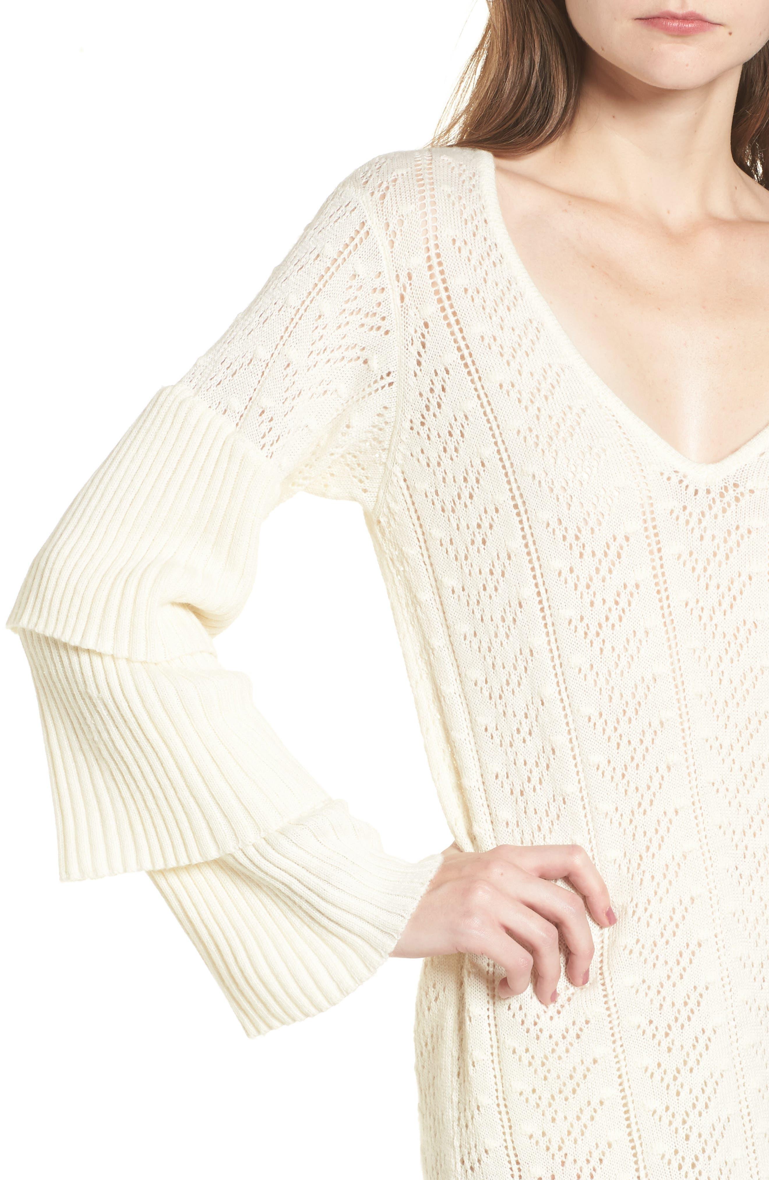 Alternate Image 4  - Tularosa Scout Knit Ruffle Sleeve Dress
