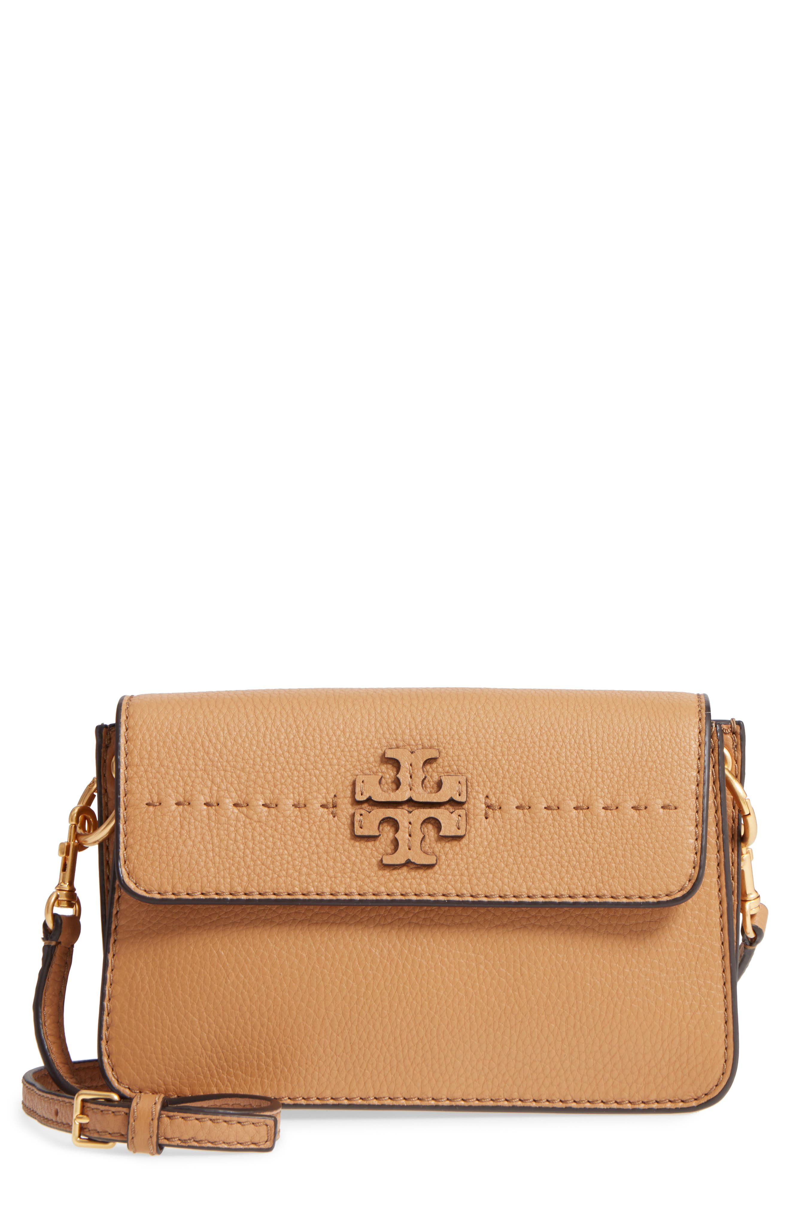 Tory Burch McGraw Leather Shoulder Bag