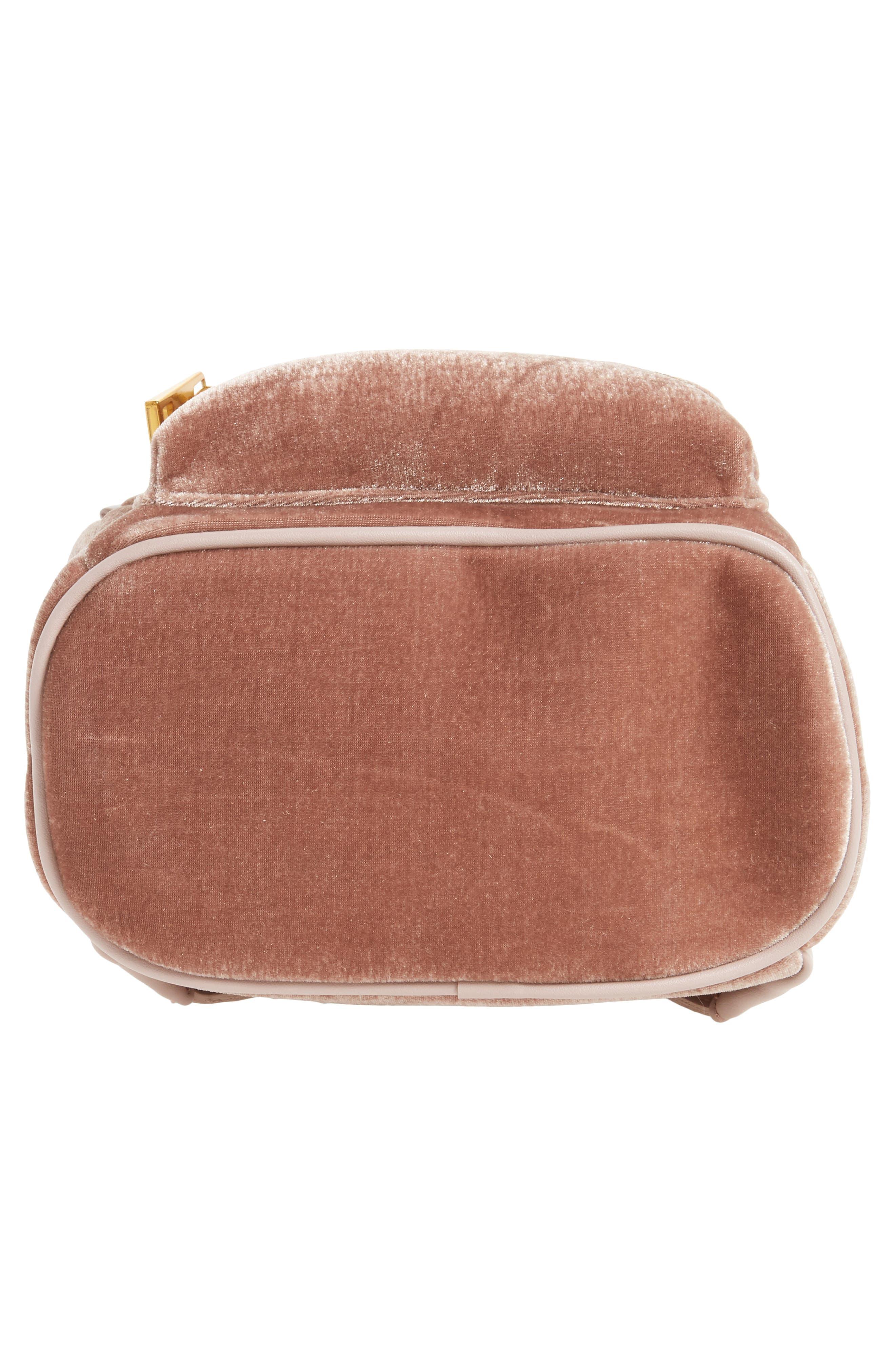 Alternate Image 6  - Street Level Velvet Backpack