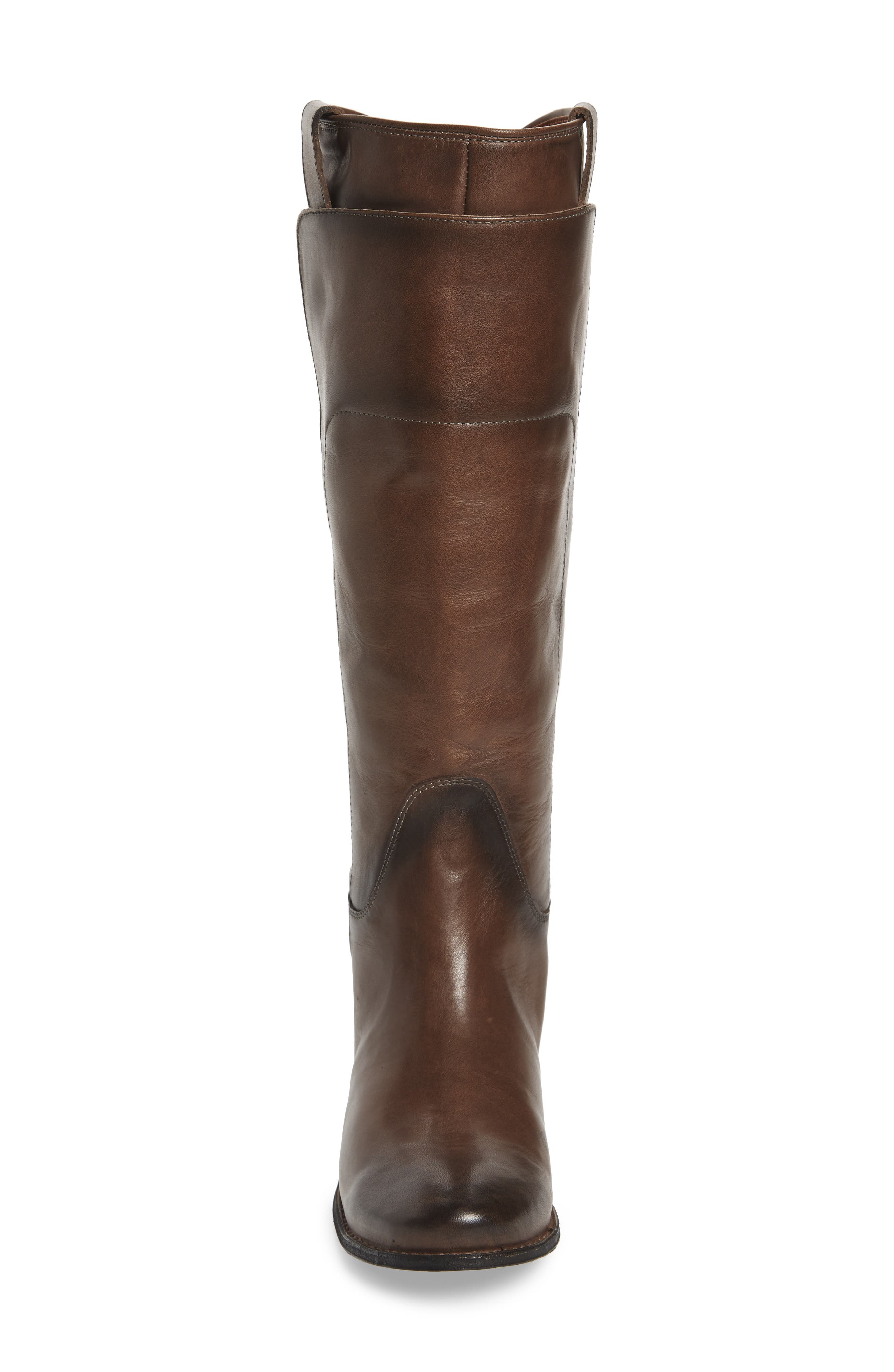 Paige Tall Riding Boot,                             Alternate thumbnail 4, color,                             Smoke