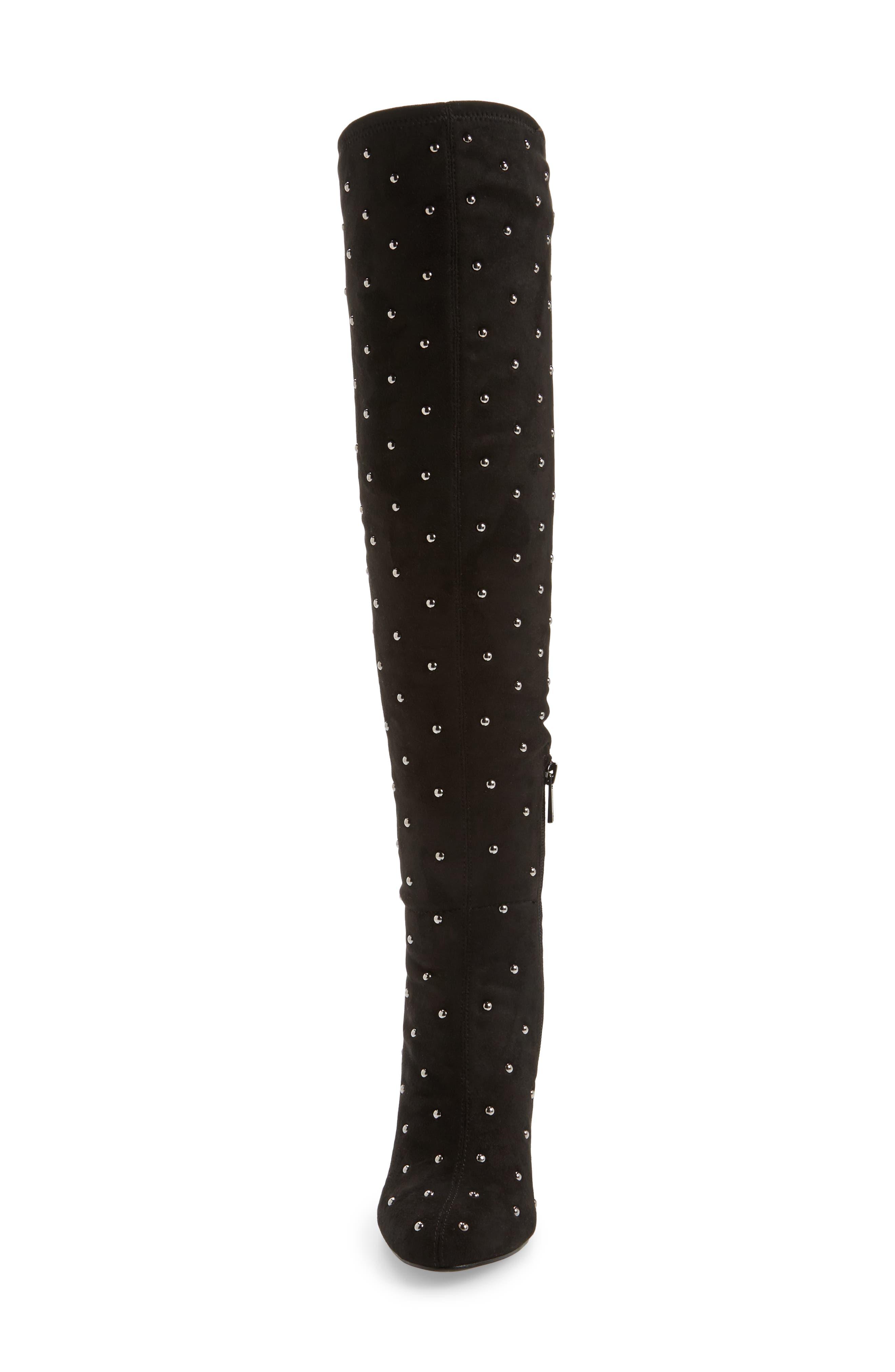 Alternate Image 4  - Jessica Simpson Bressy Studded Over the Knee Boot (Women)