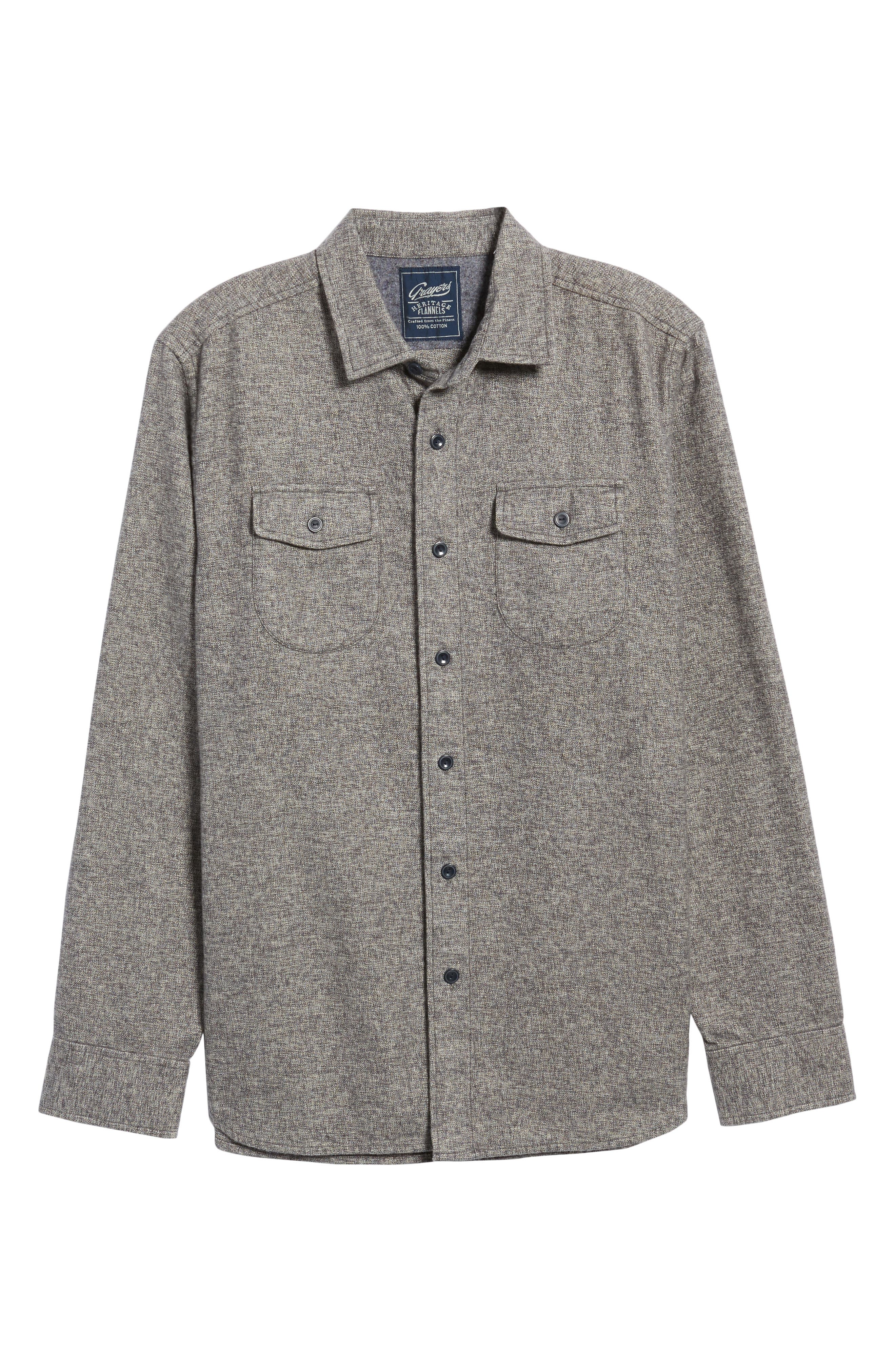 Alternate Image 6  - Grayers Harrison Heritage Flannel Shirt