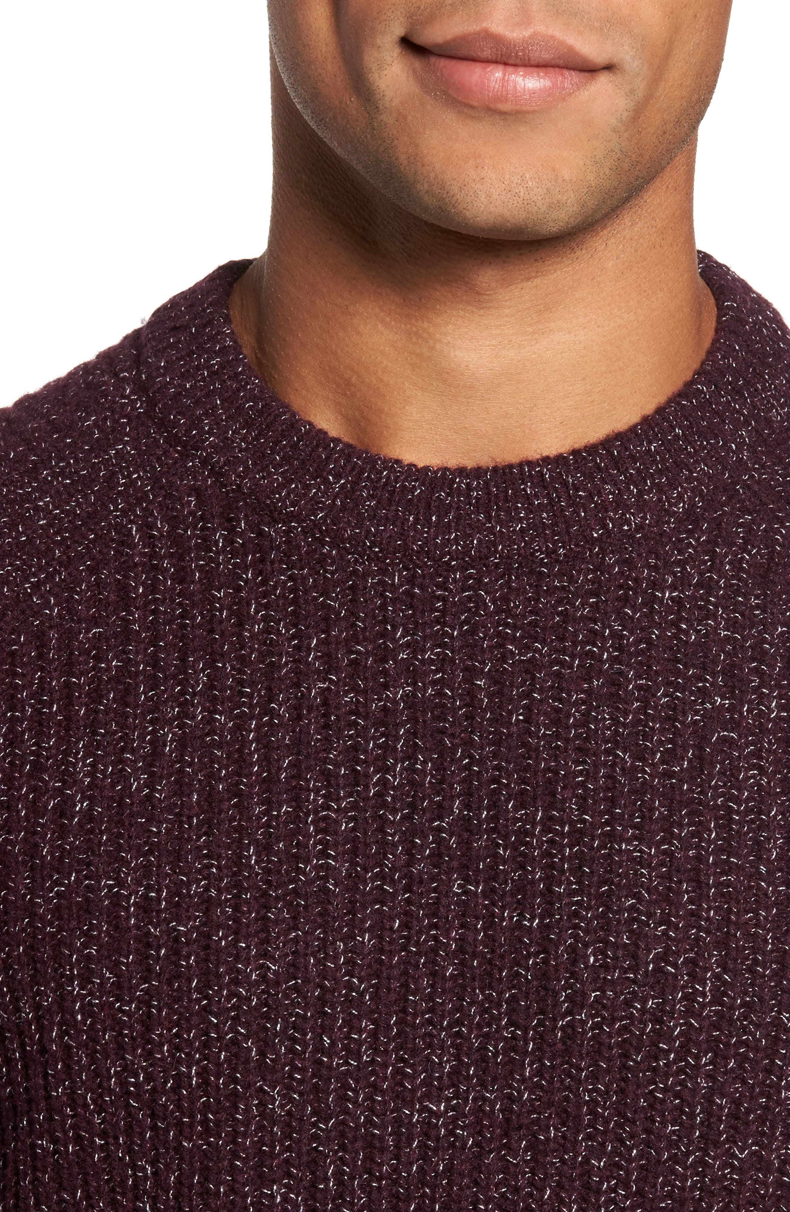 Alternate Image 4  - Ted Baker London Textured Raglan Sweater