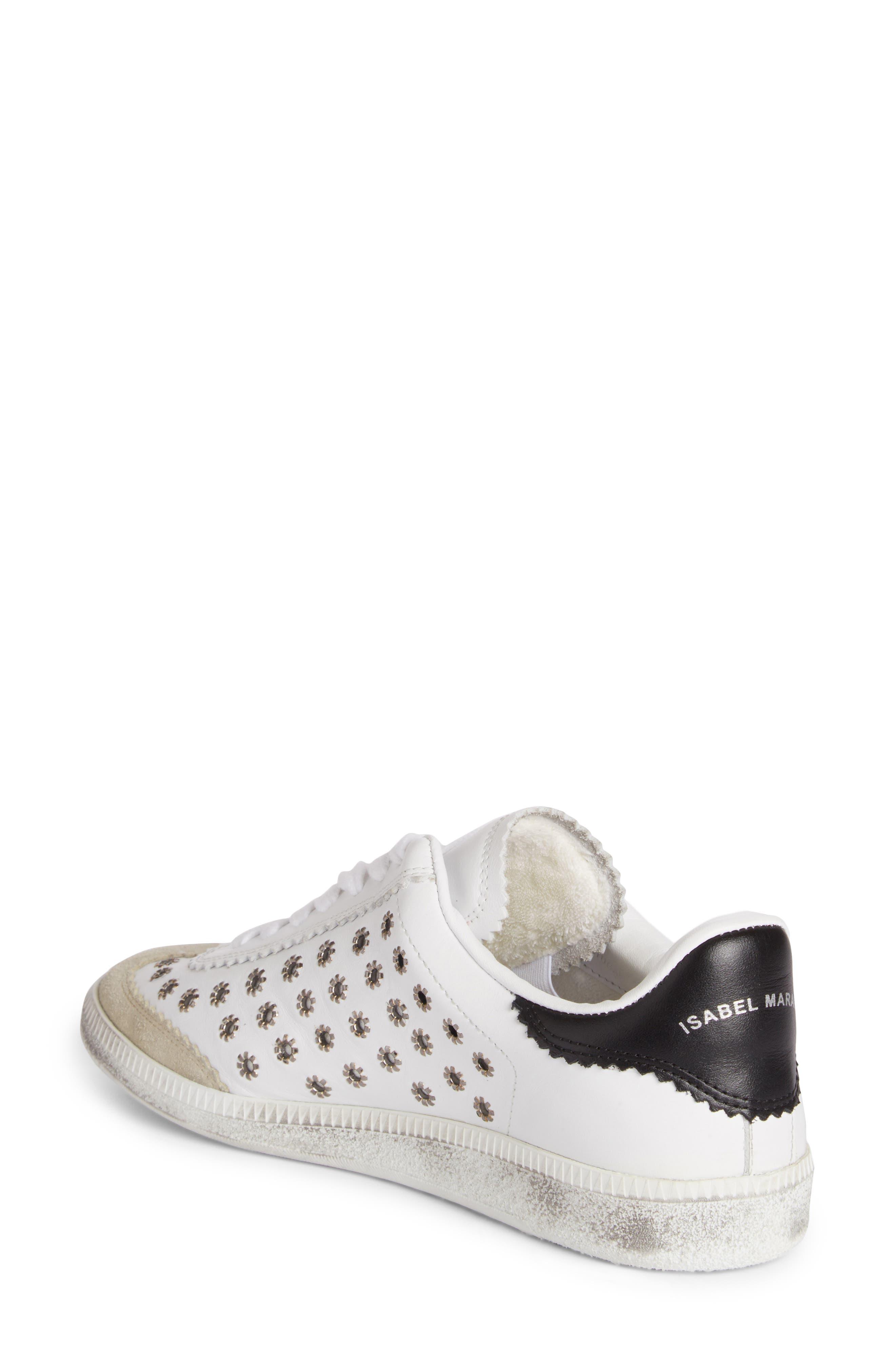 Alternate Image 2  - Isabel Marant Grommet Sneaker (Women)