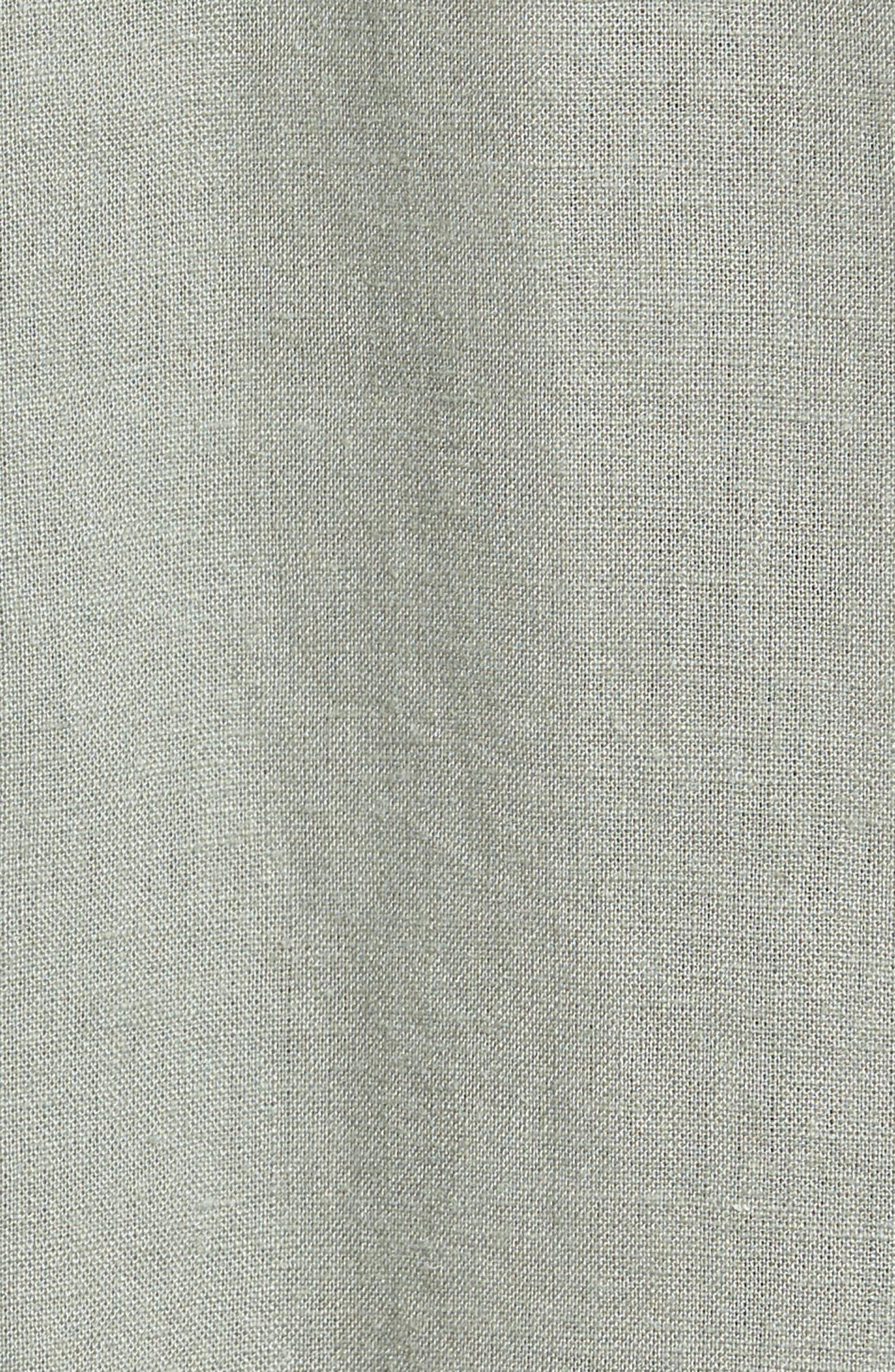 Kona Embroidered Shirt,                             Alternate thumbnail 5, color,                             Sage/ Inca Embroidery