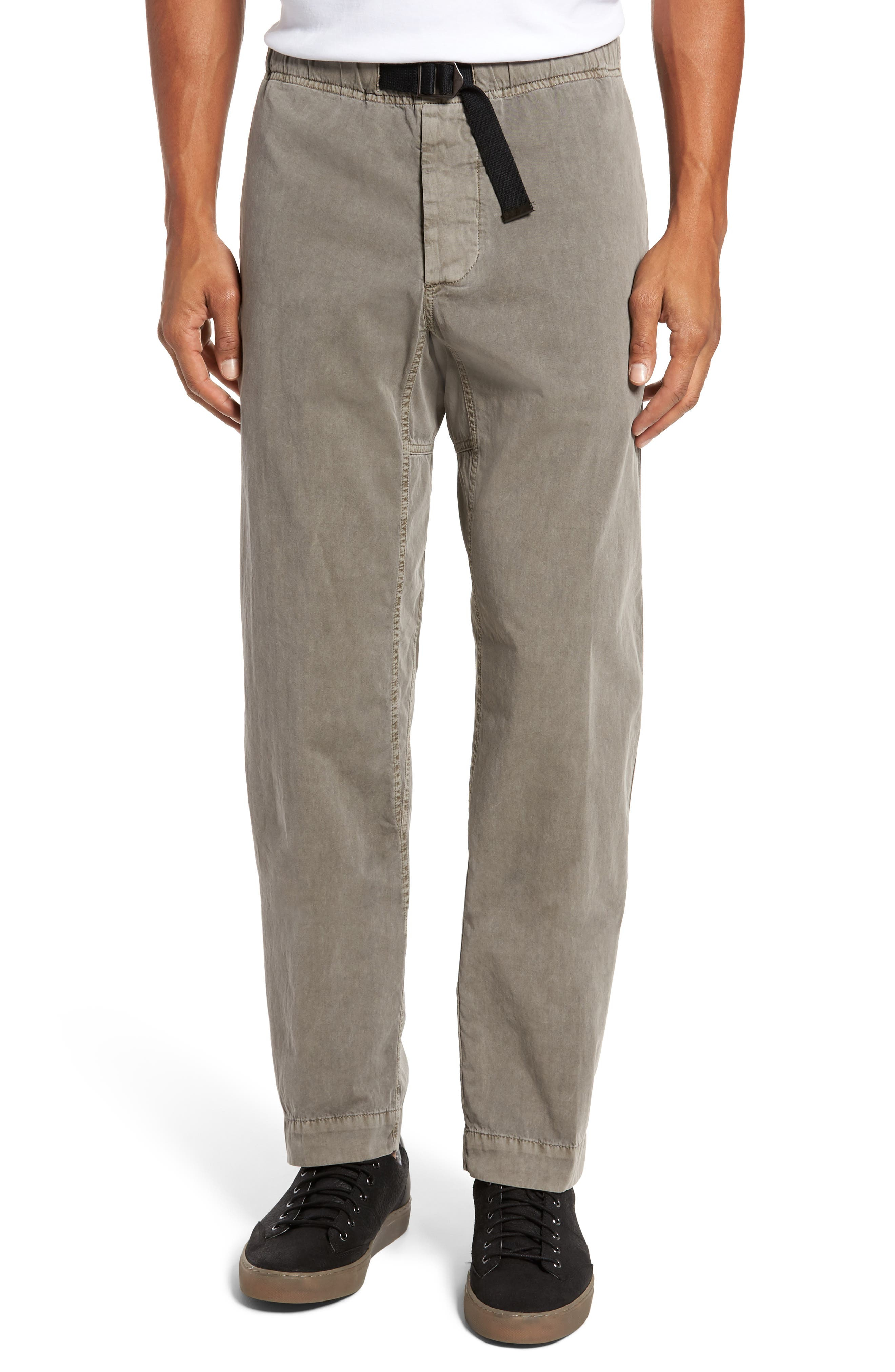 James Perse  RELAXED FIT BELTED COTTON PANTS