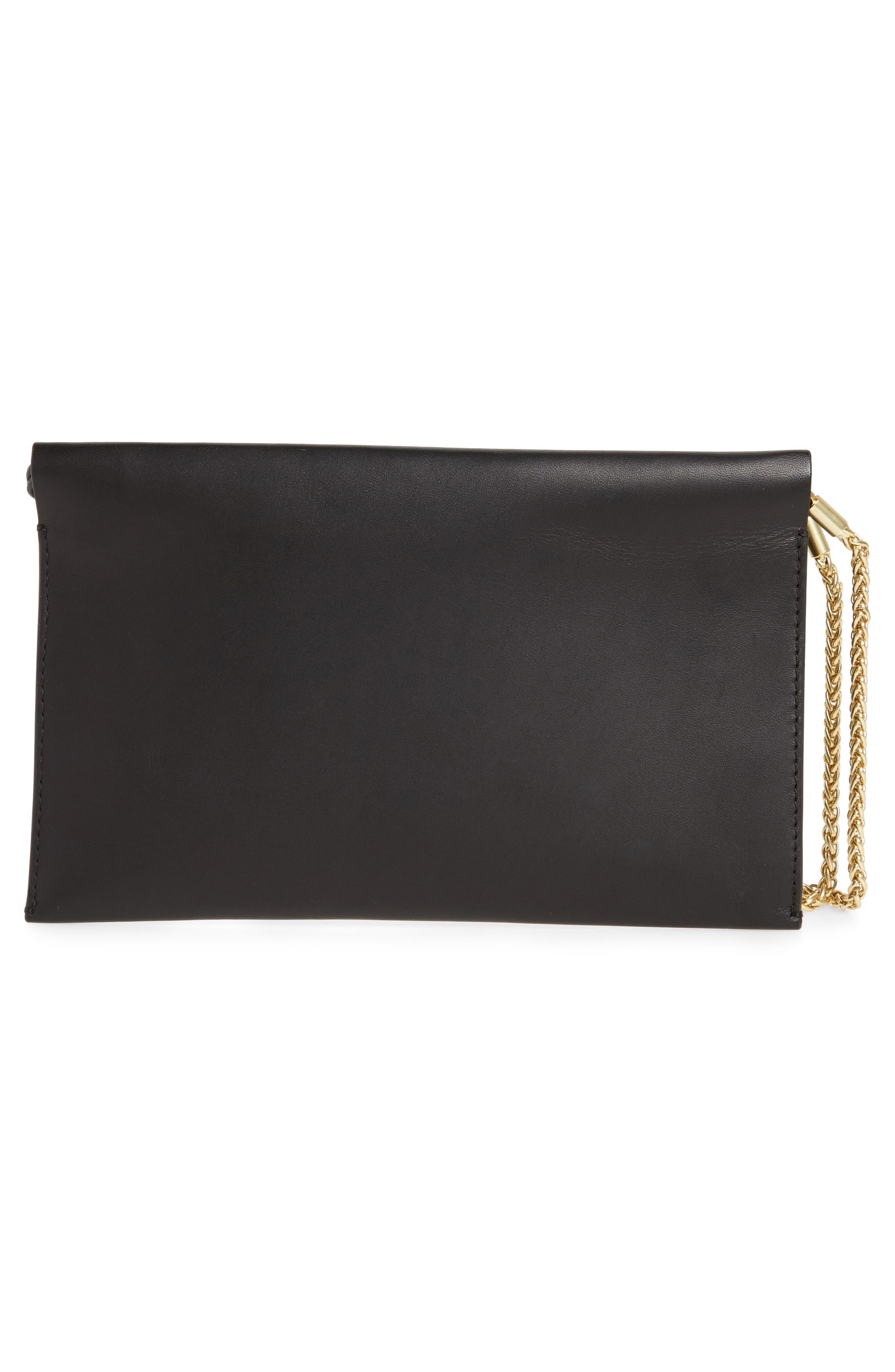 Alternate Image 2  - Skagen Leather Wristlet