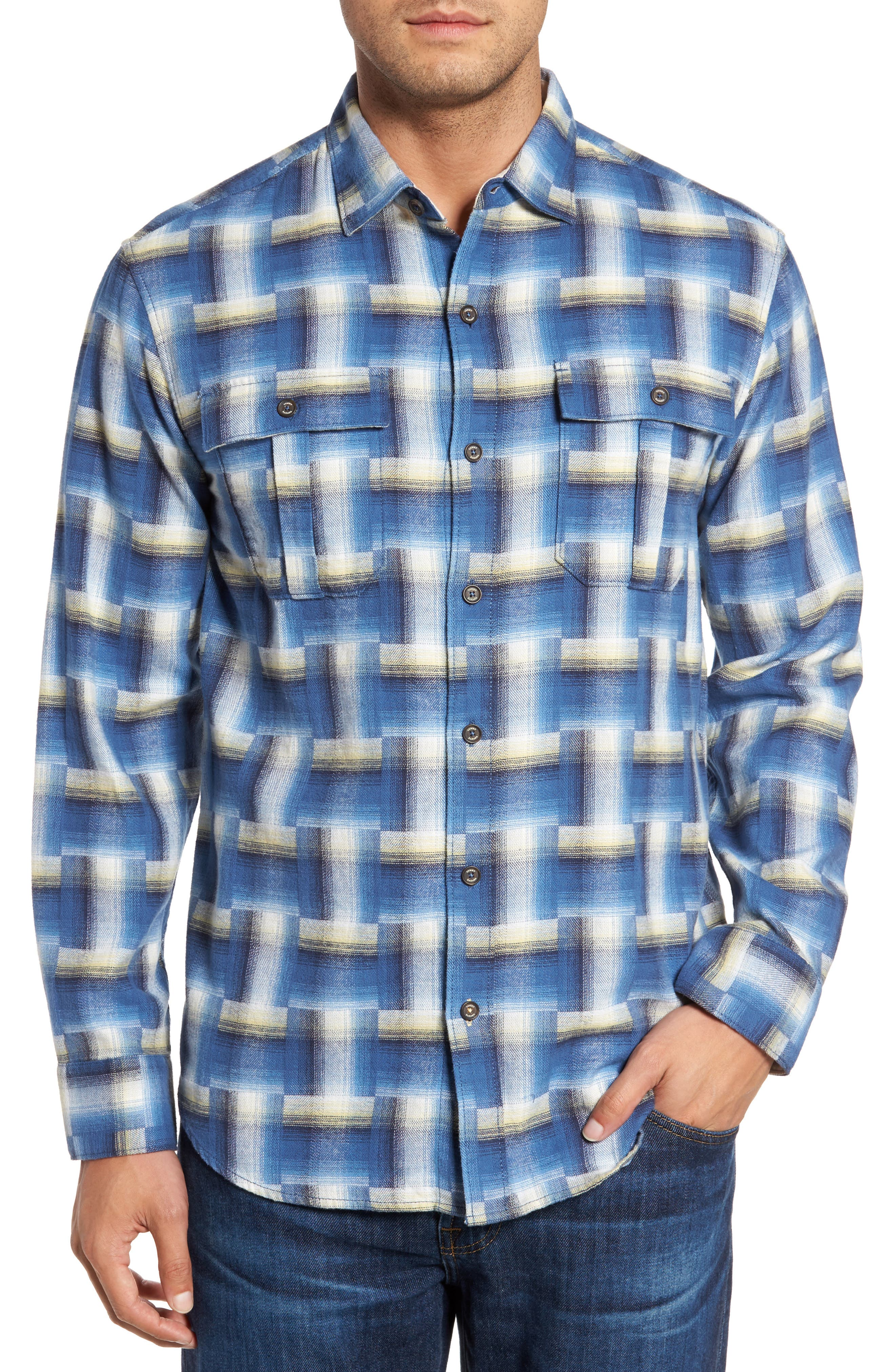 Alternate Image 1 Selected - Tommy Bahama Boogie Print Sport Shirt