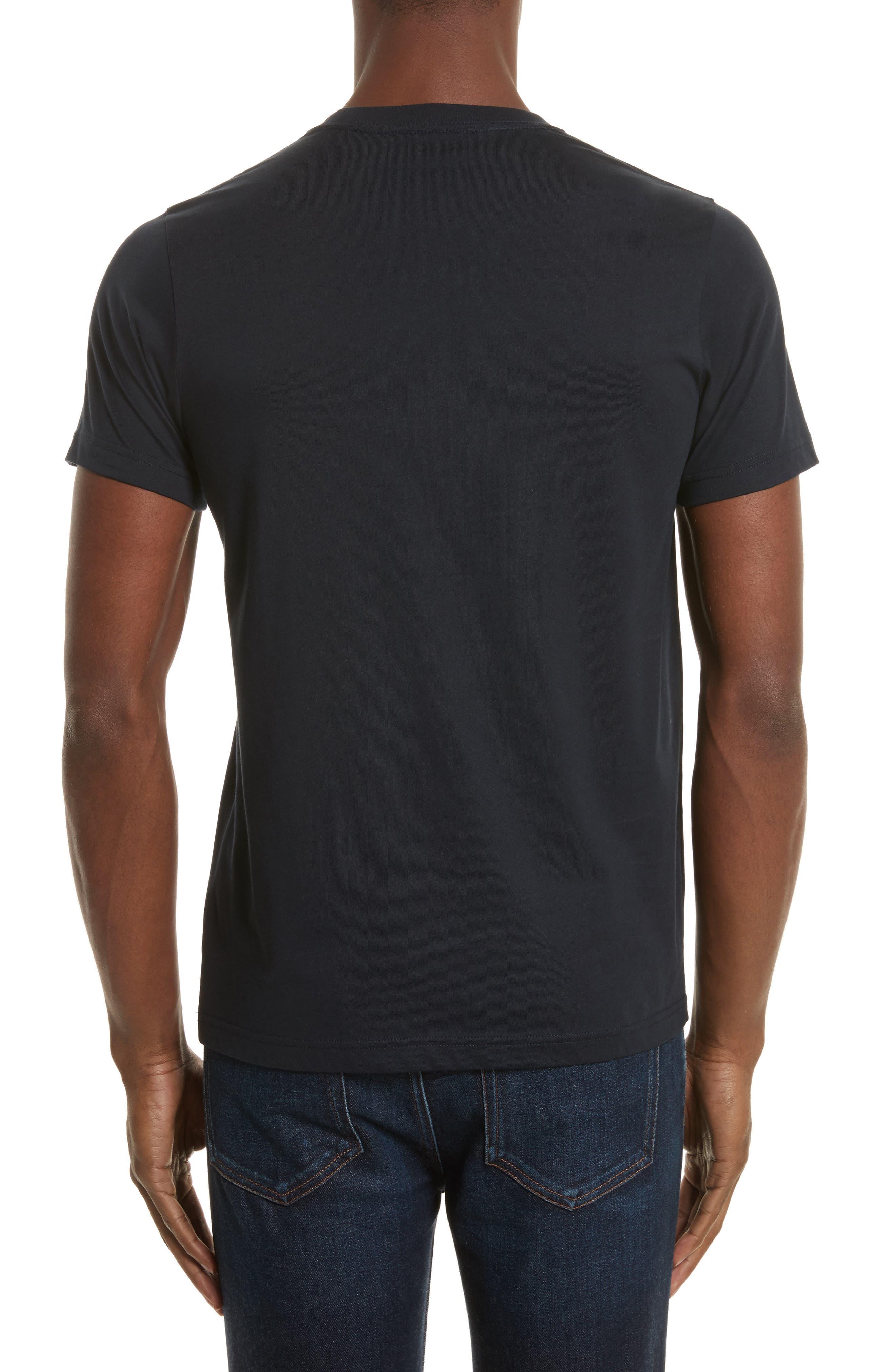 Mini Skulls Graphic T-Shirt,                             Alternate thumbnail 2, color,                             Blue