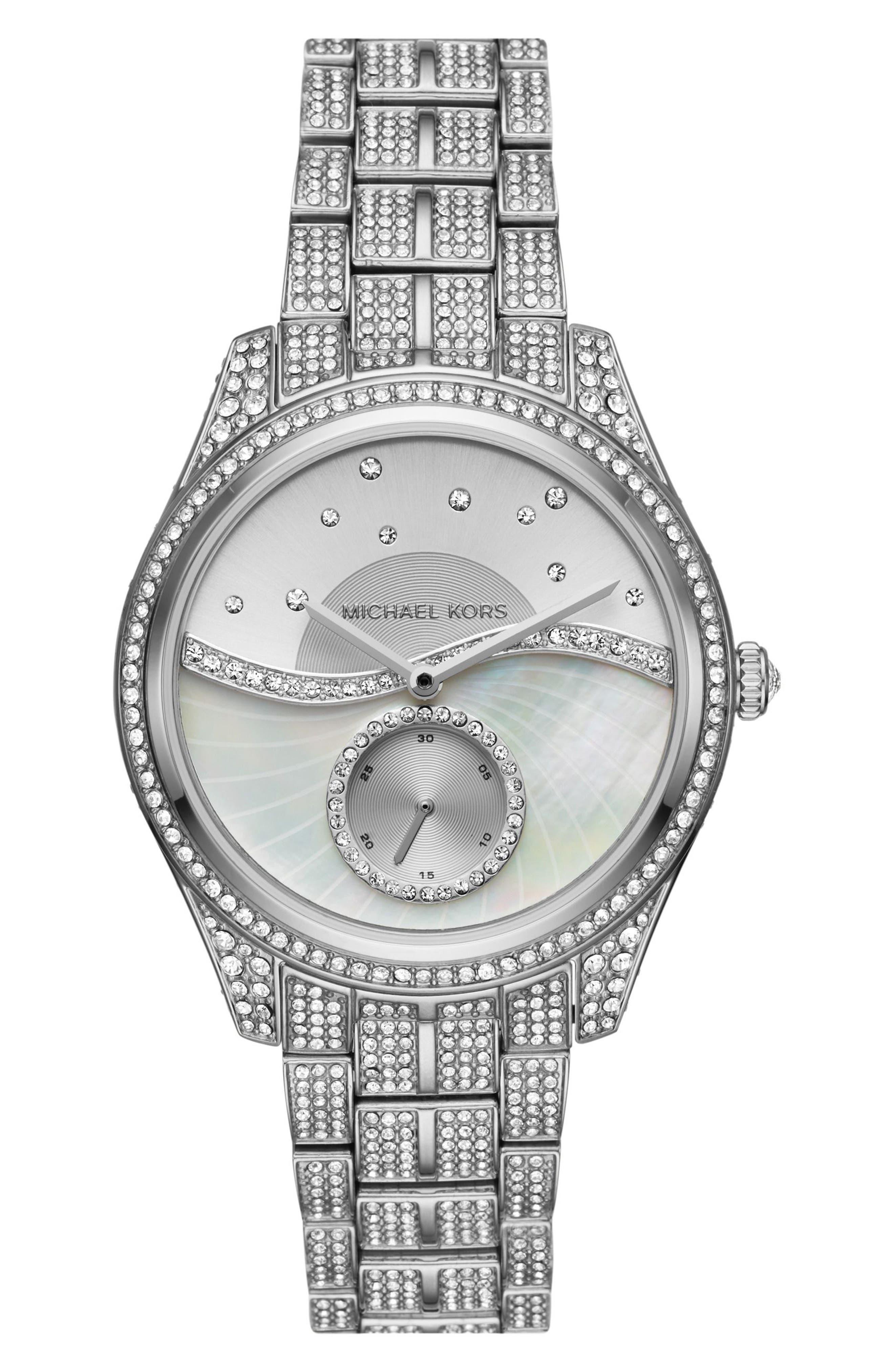 Michael Kors Lauryn Celestial Bracelet Watch, 38mm