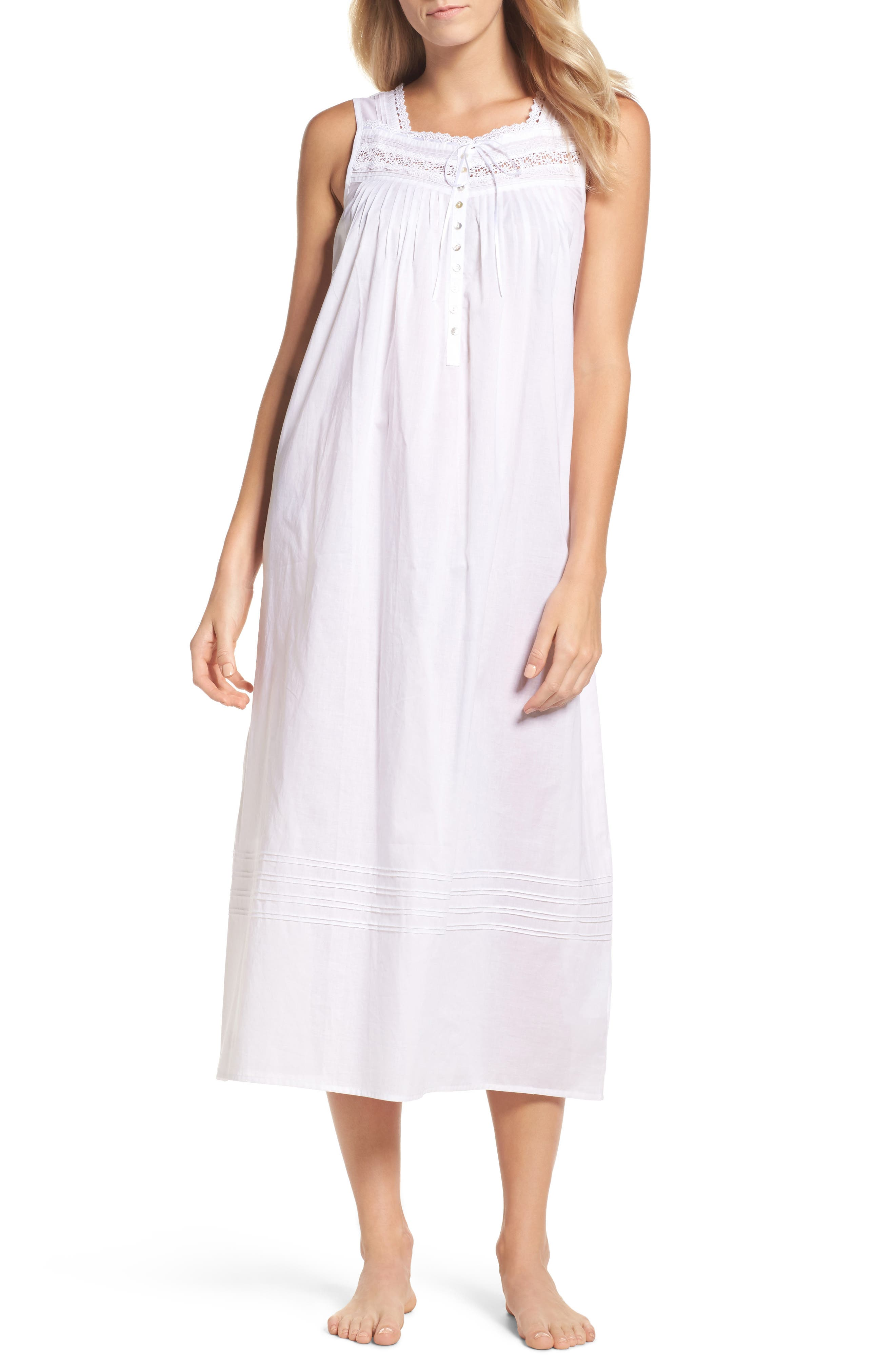 Ballet Nightgown,                         Main,                         color, White
