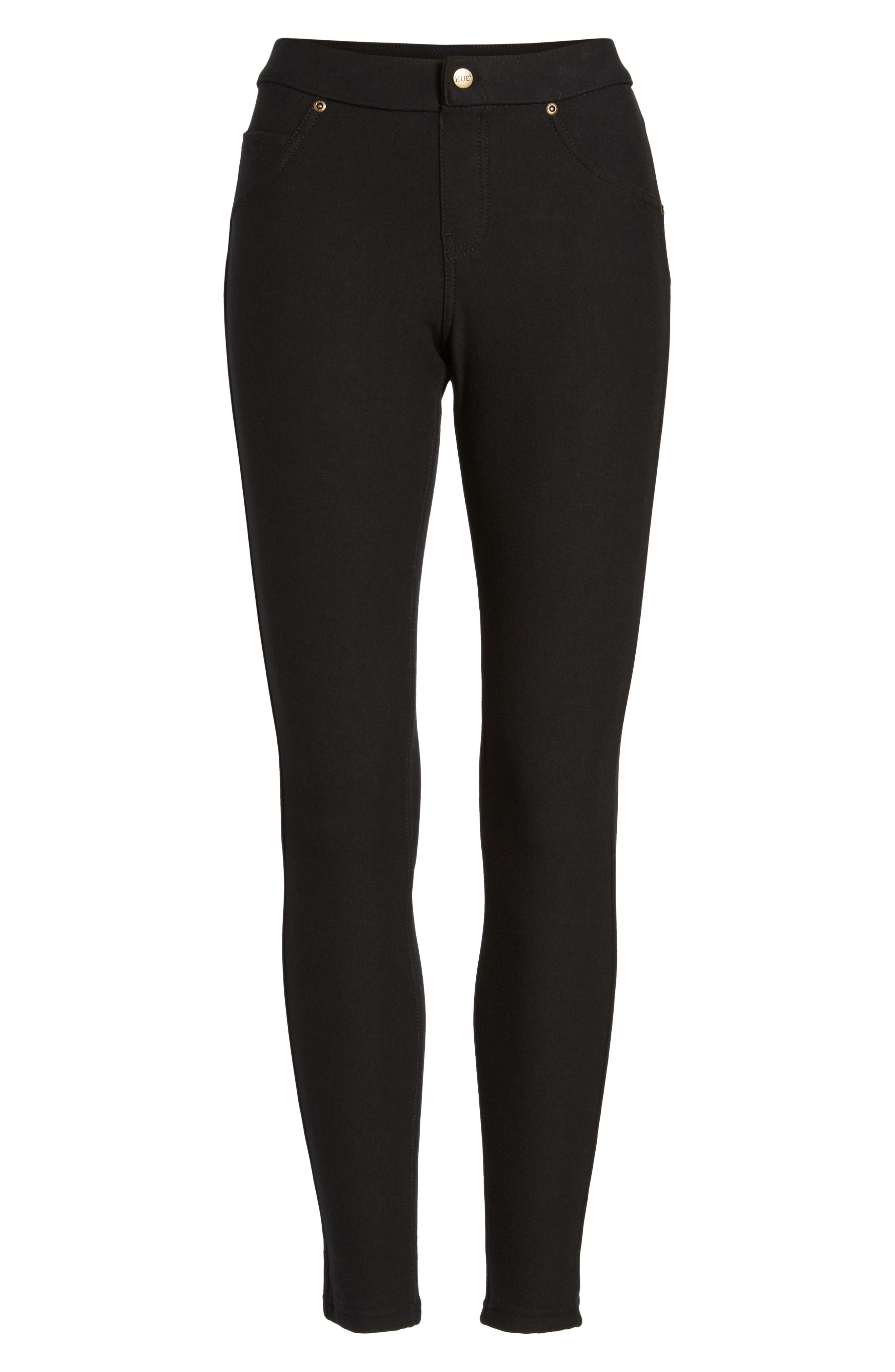 Alternate Image 4  - Hue Fleece Lined Leggings