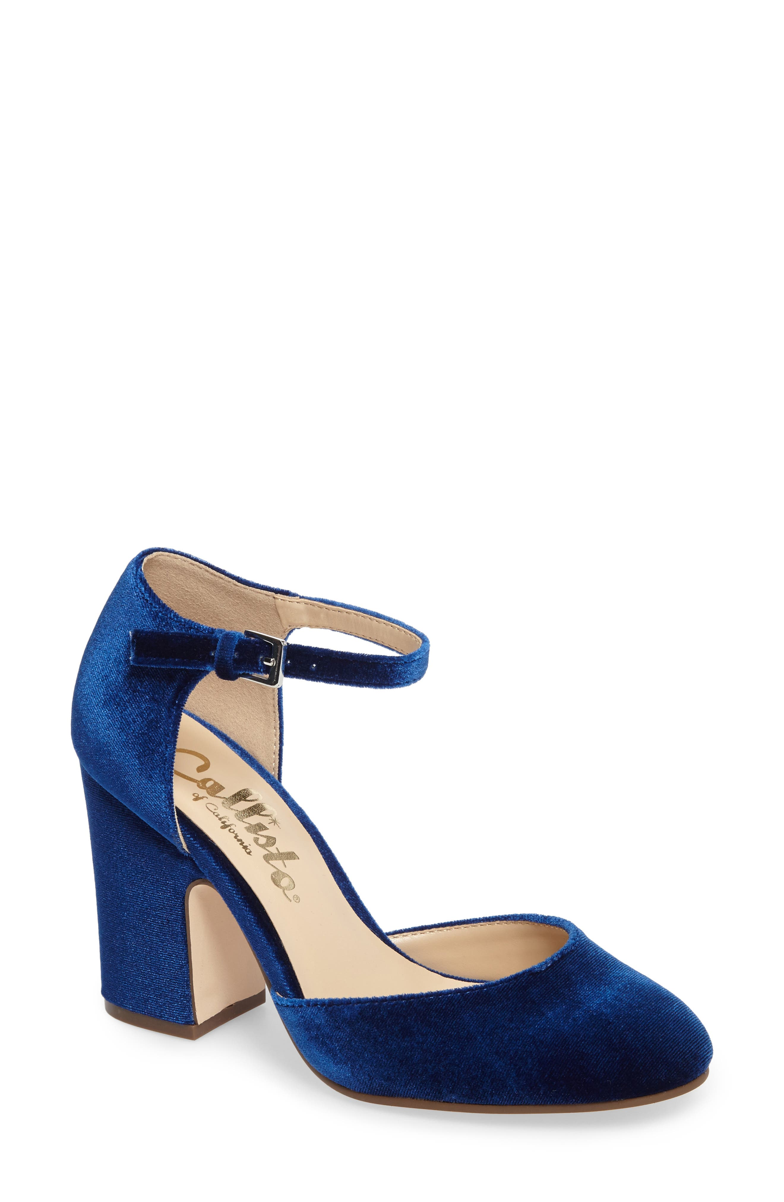 Alternate Image 1 Selected - Callisto Indeego Ankle Strap Pump (Women)