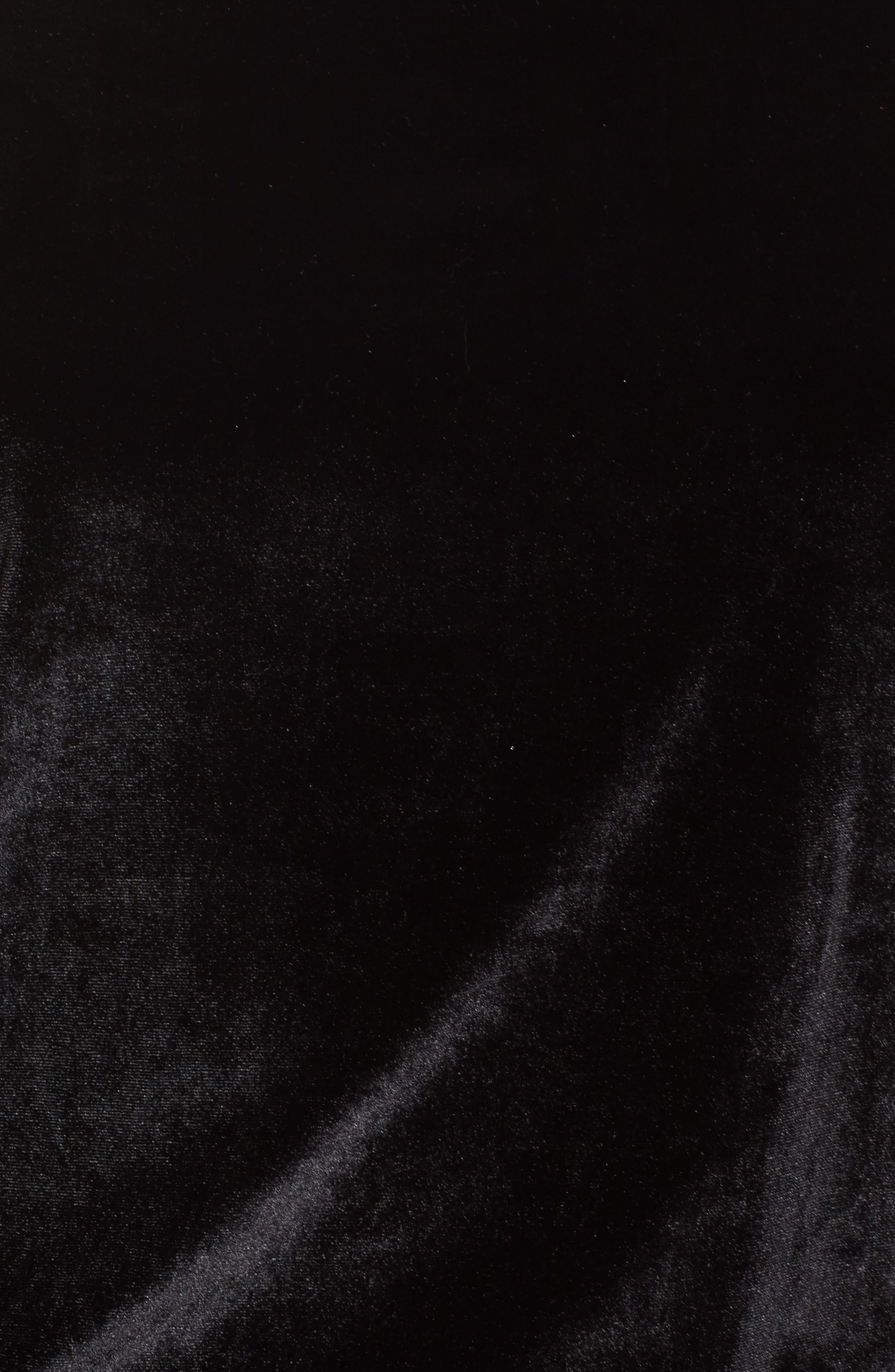 Alternate Image 5  - DKNY Velour Sweatshirt