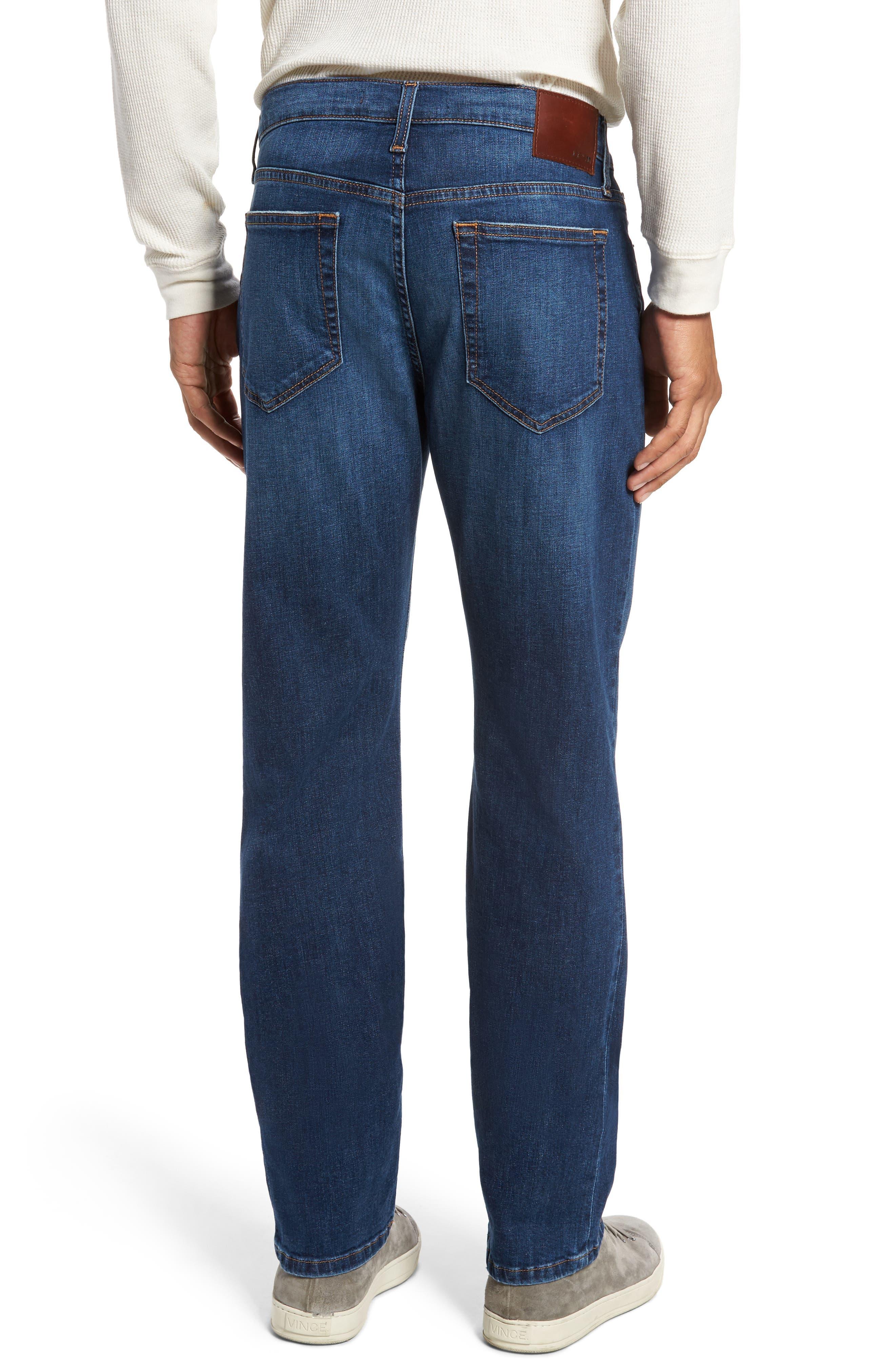 Brixton Slim Straight Leg Jeans,                             Alternate thumbnail 2, color,                             Bradlee