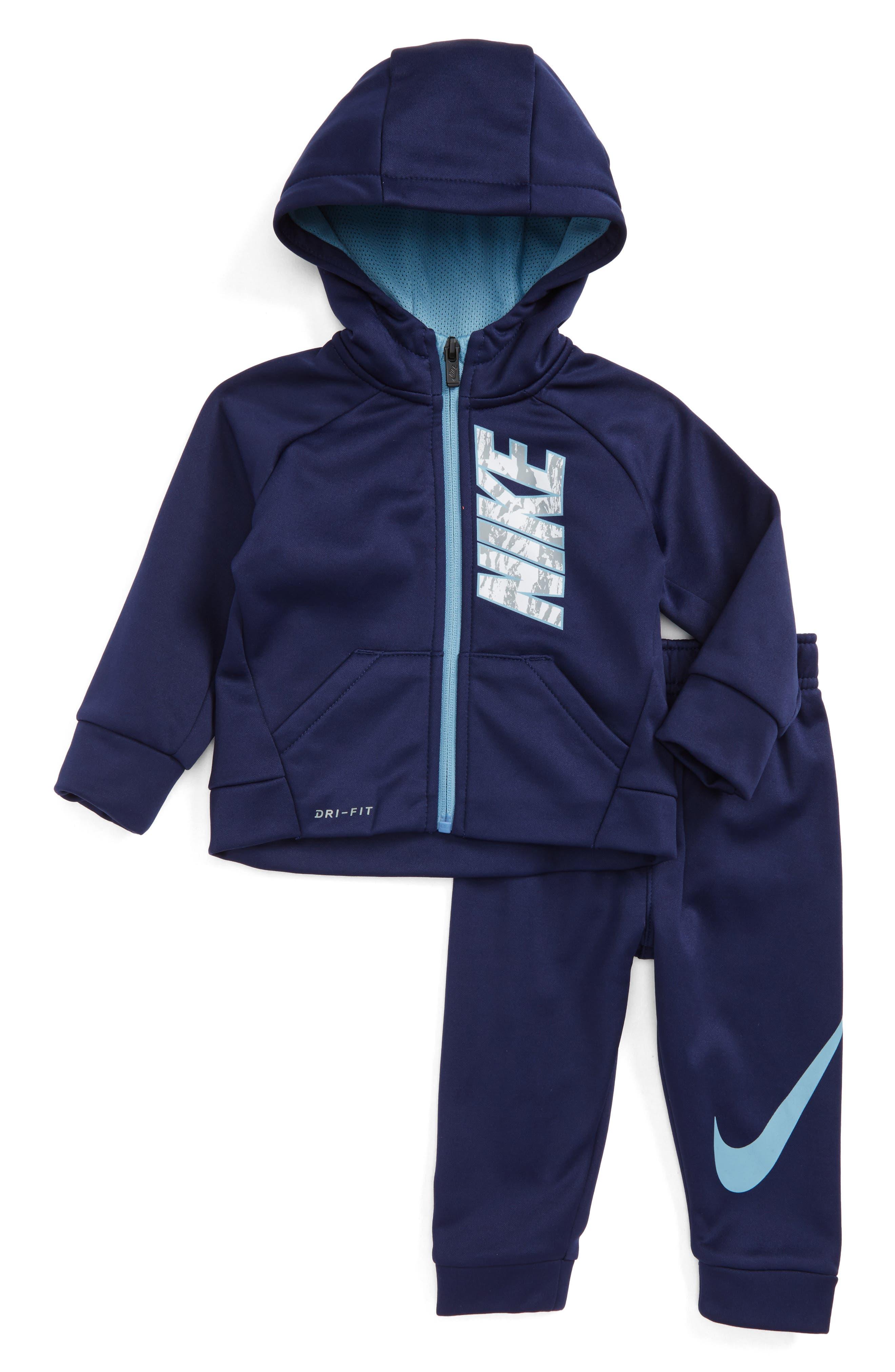 Nike Therma-FIT Fleece Hoodie & Pants Set (Baby)