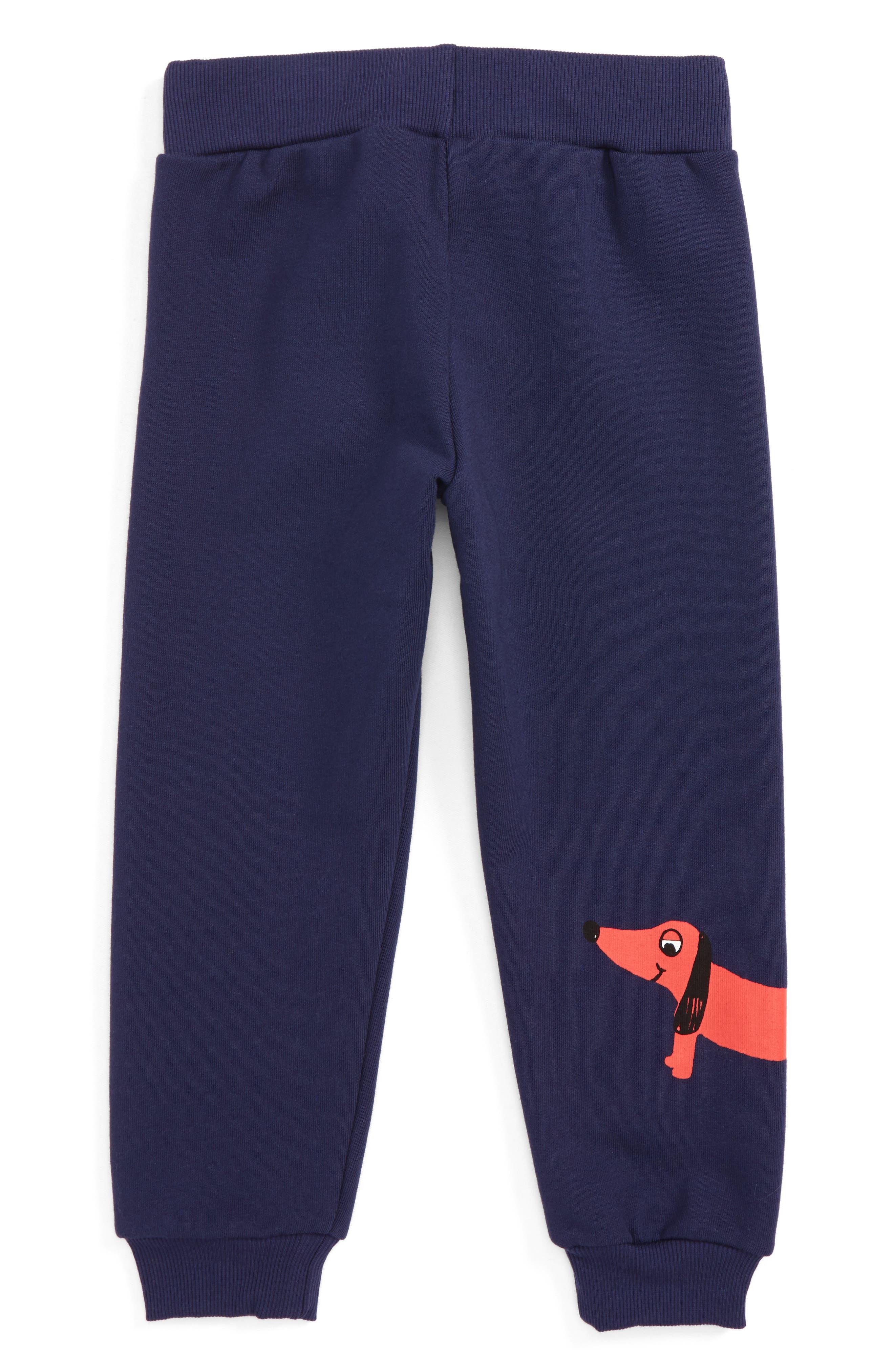 Dog Sweatpants,                             Alternate thumbnail 2, color,                             Navy