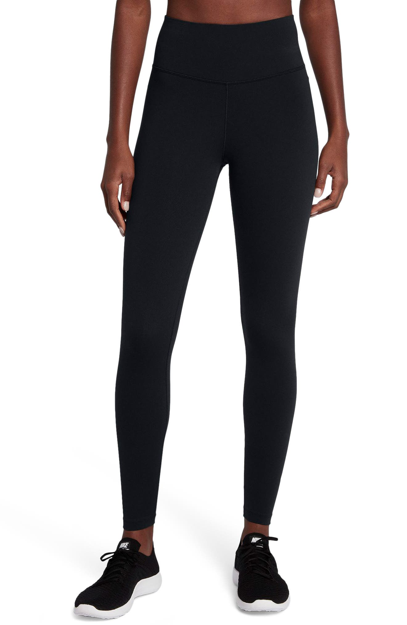 Sculpt Lux Training Tights,                         Main,                         color, Black/ Clear