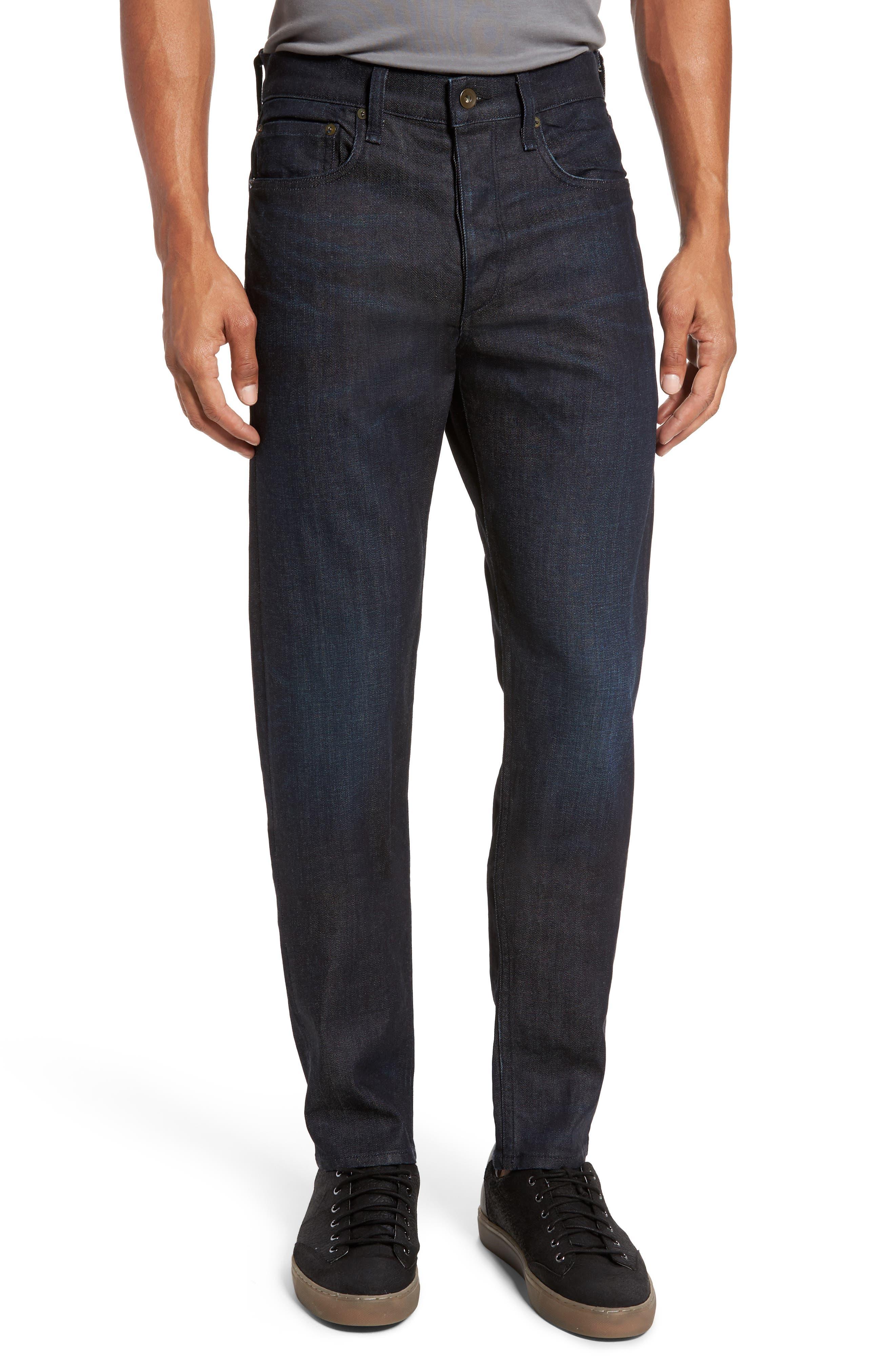 PAIGE Transcend - Lennox Slim Fit Jeans (Kentner)