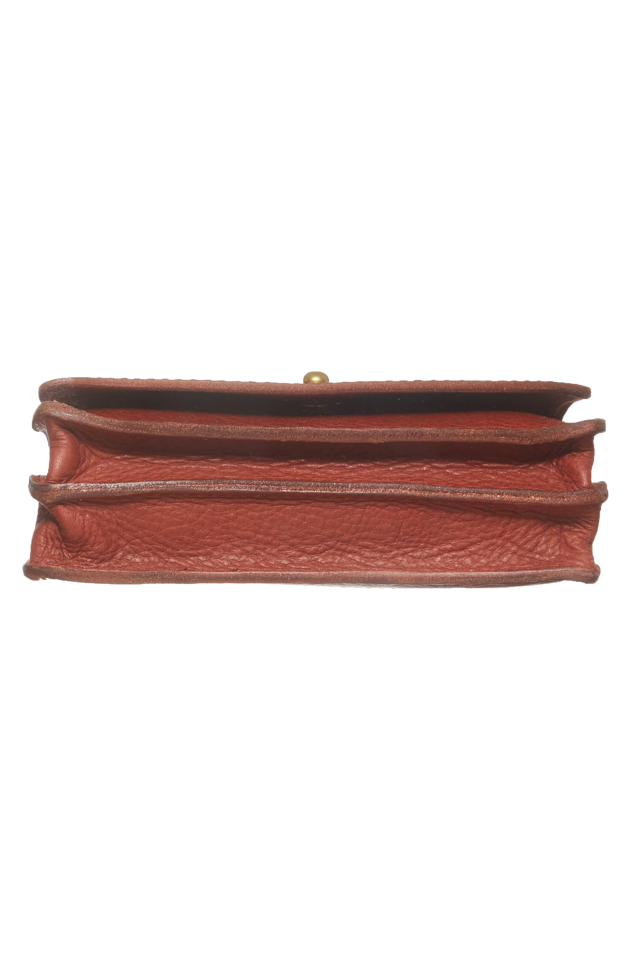 Alternate Image 6  - Madewell Leather Crossbody Wallet