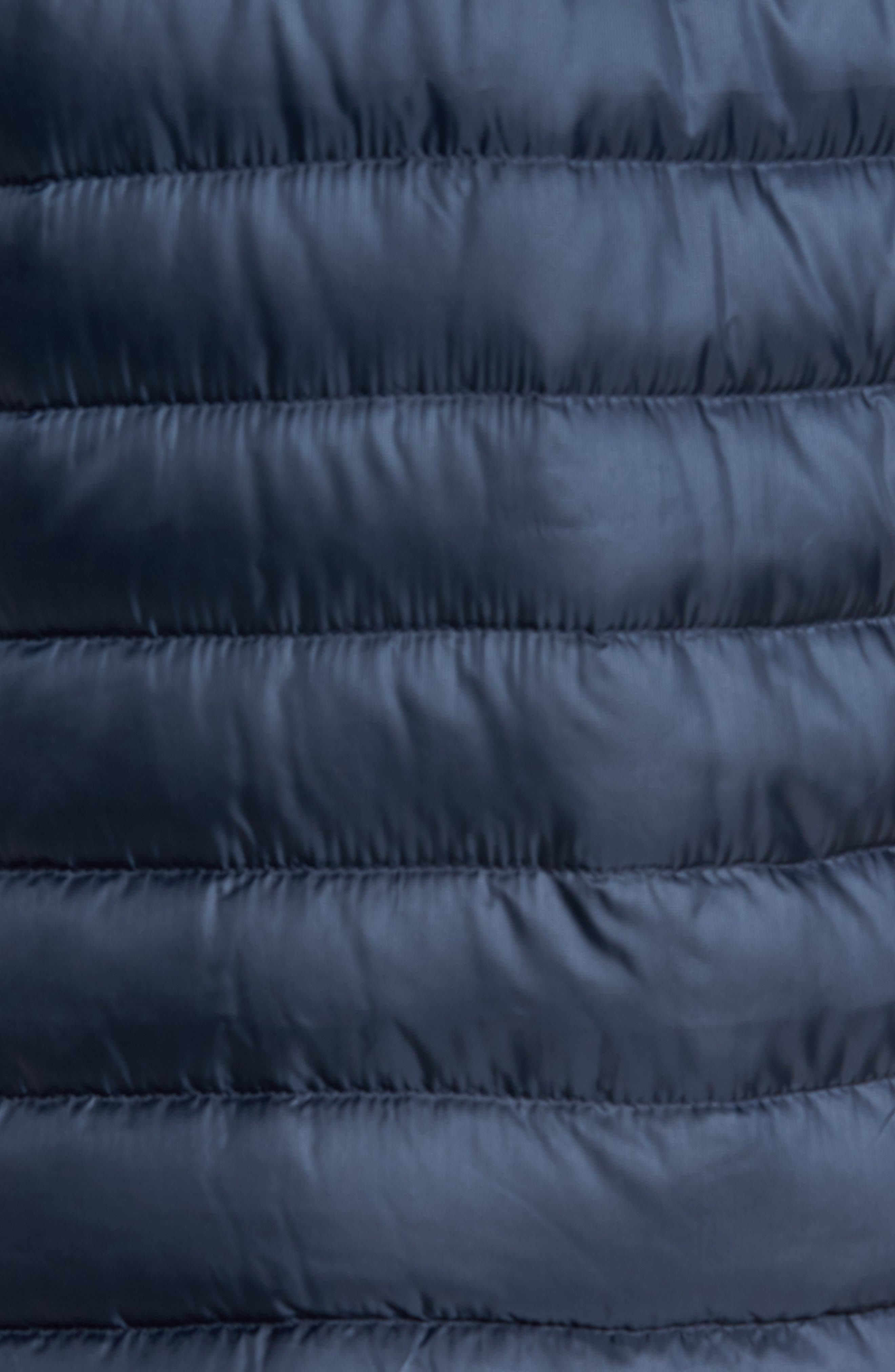 Trevail Water Repellent Packable Down Jacket,                             Alternate thumbnail 5, color,                             Urban Navy/ Urban Navy