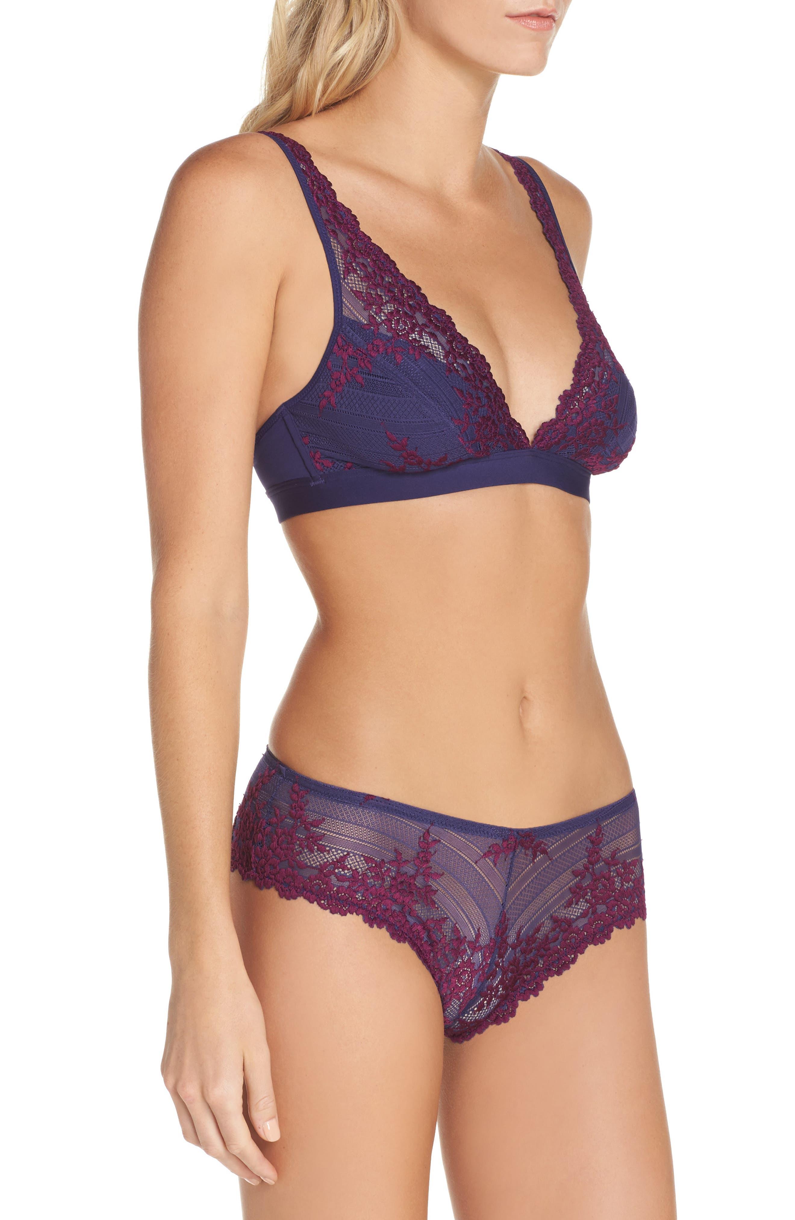 Alternate Image 5  - Wacoal 'Embrace Lace' Deep-V Bralette
