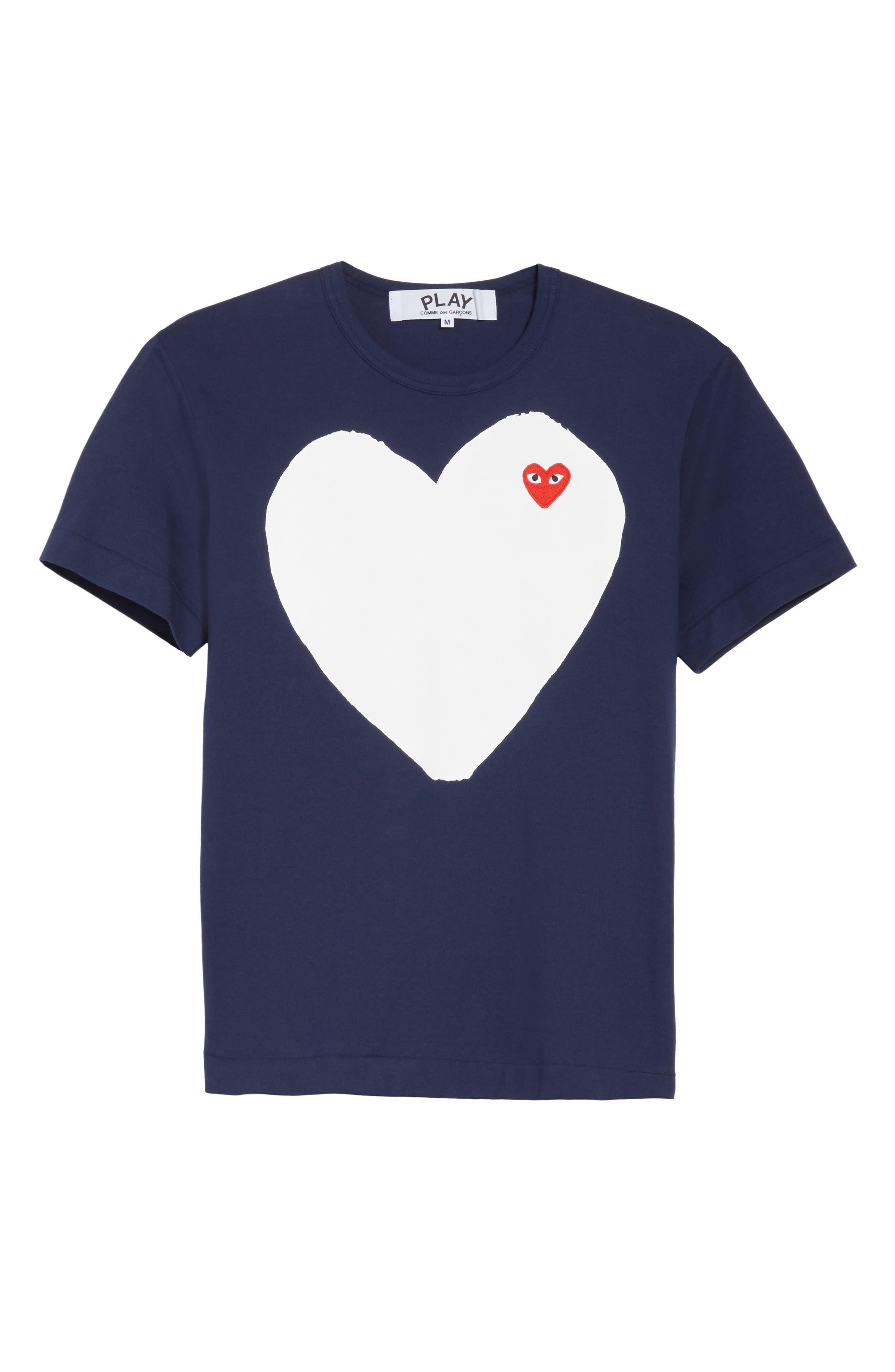 Alternate Image 6  - Comme des Garçons PLAY Graphic Patch T-Shirt