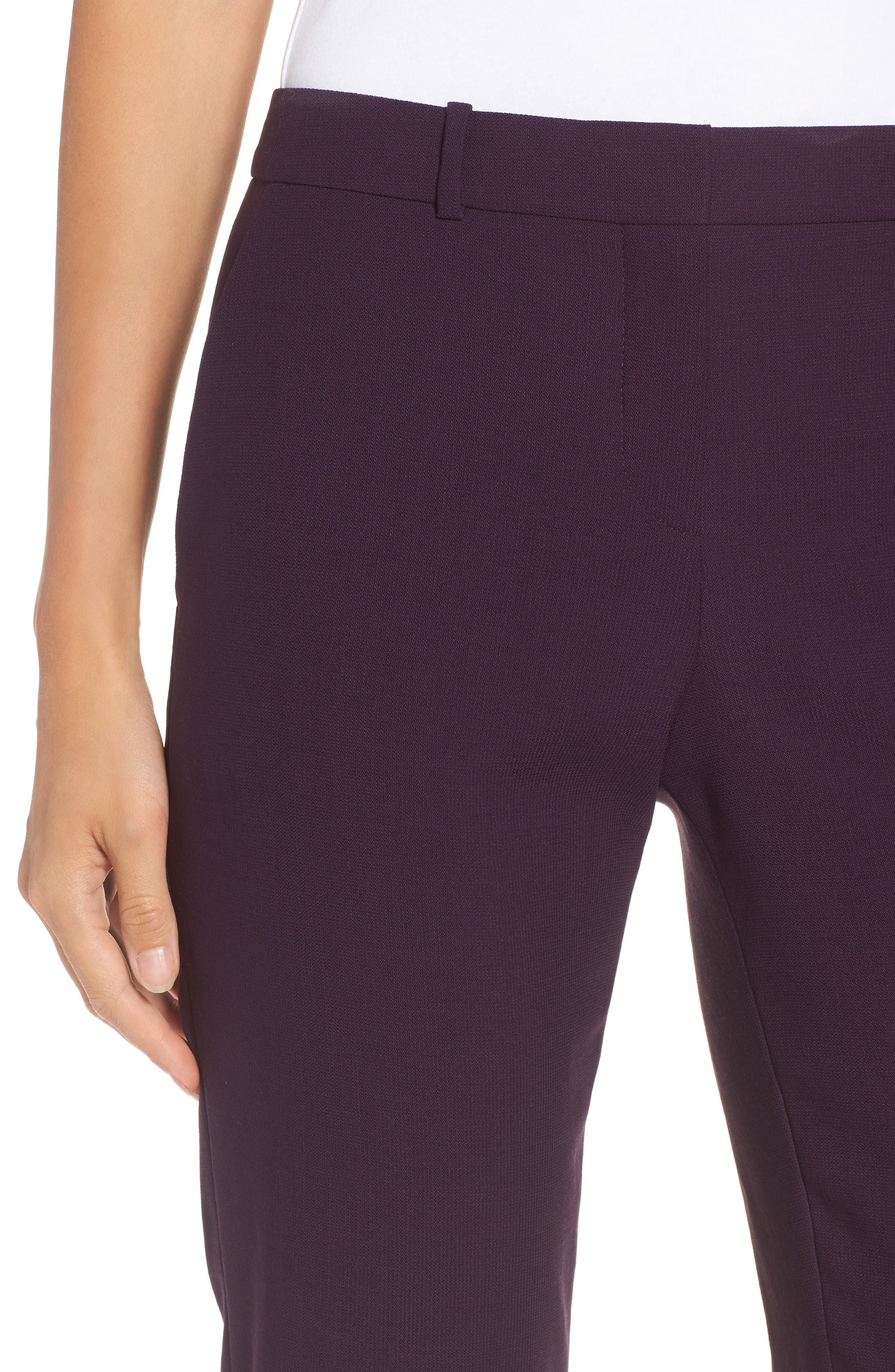 Alternate Image 4  - BOSS Tiluna Straight Leg Wool Suit Pants