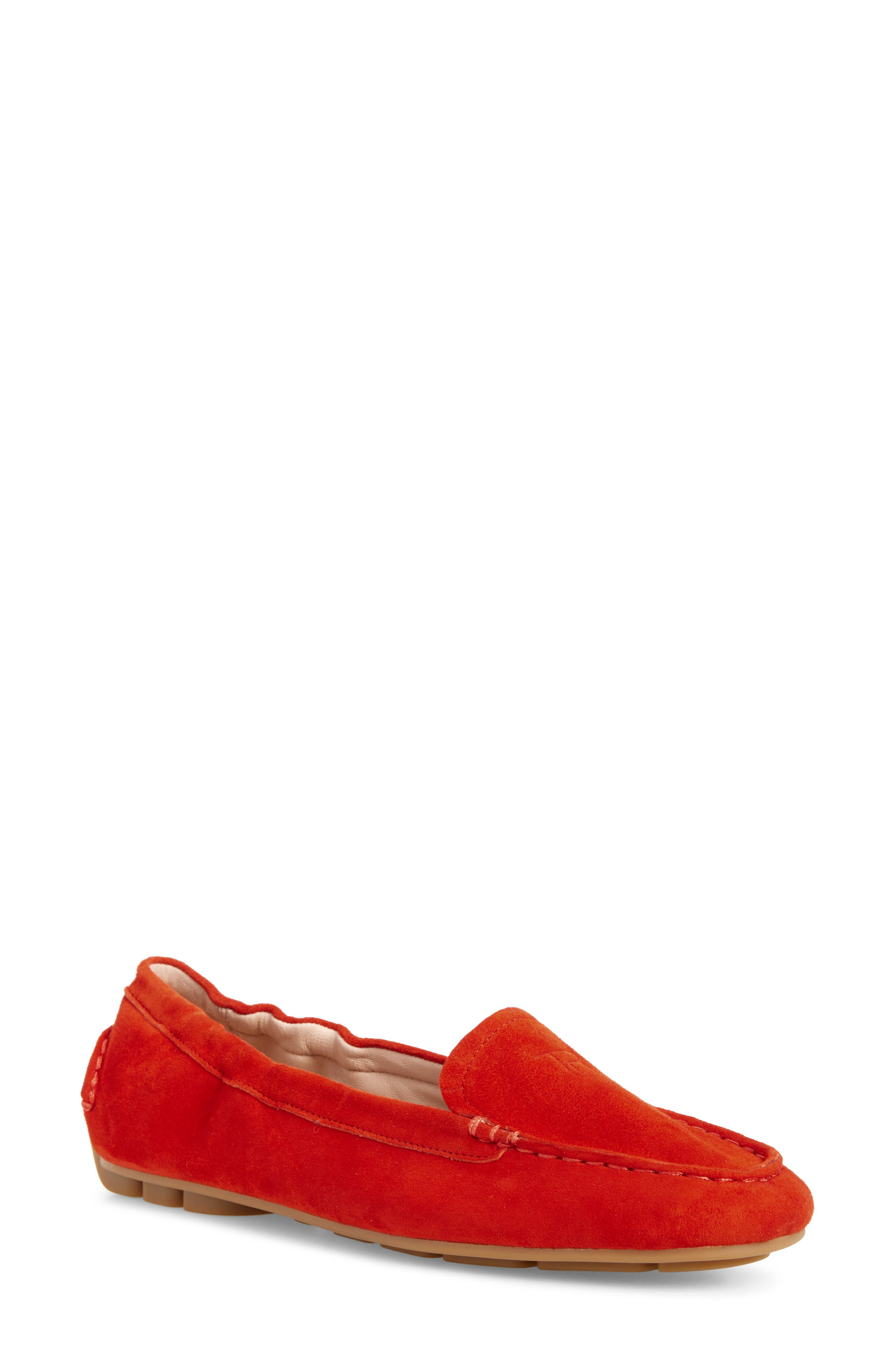 Kristine Loafer,                             Main thumbnail 1, color,                             Spicy Suede
