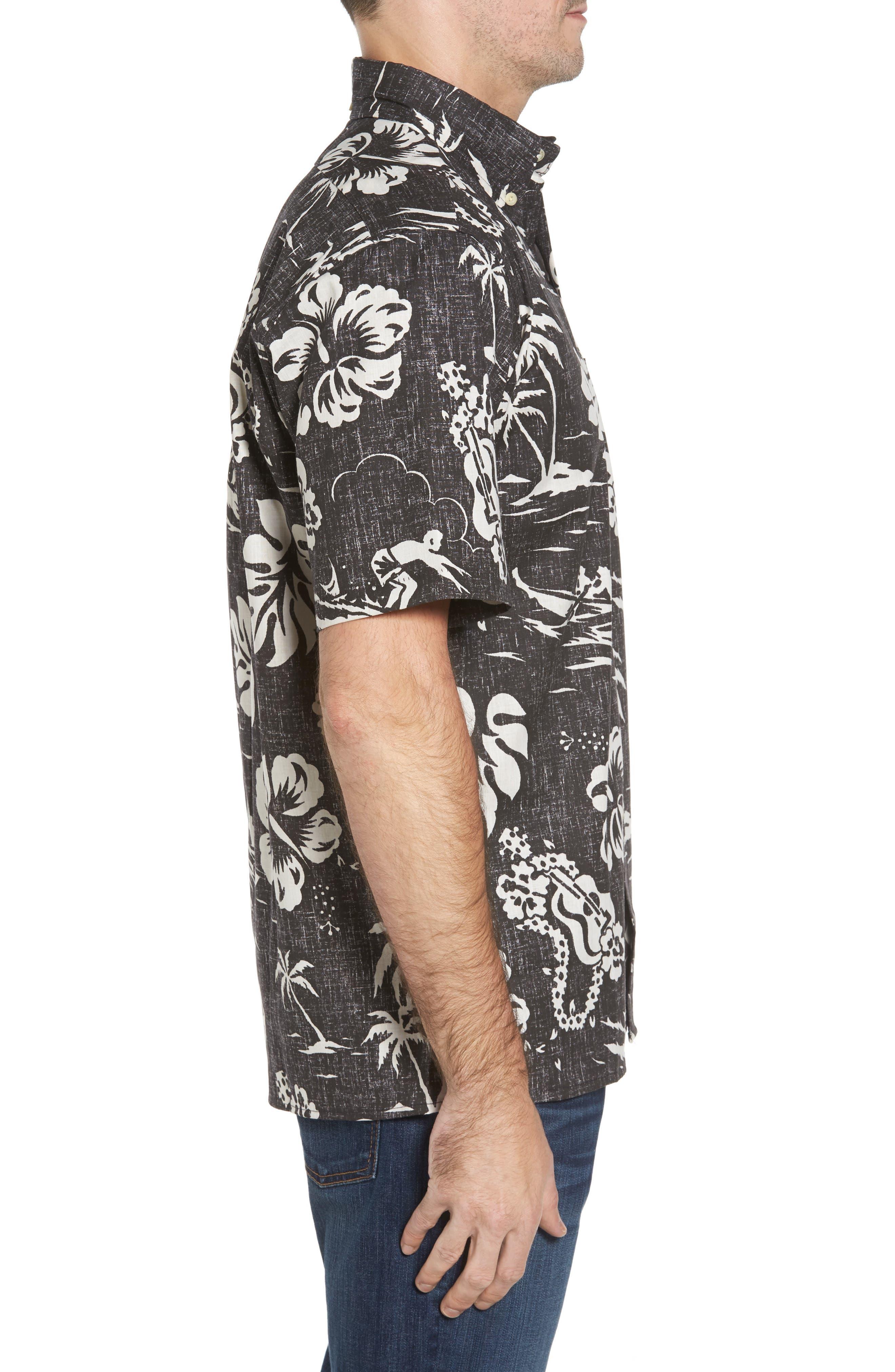 Alternate Image 3  - Reyn Spooner Quiet Lagoon Classic Fit Sport Shirt