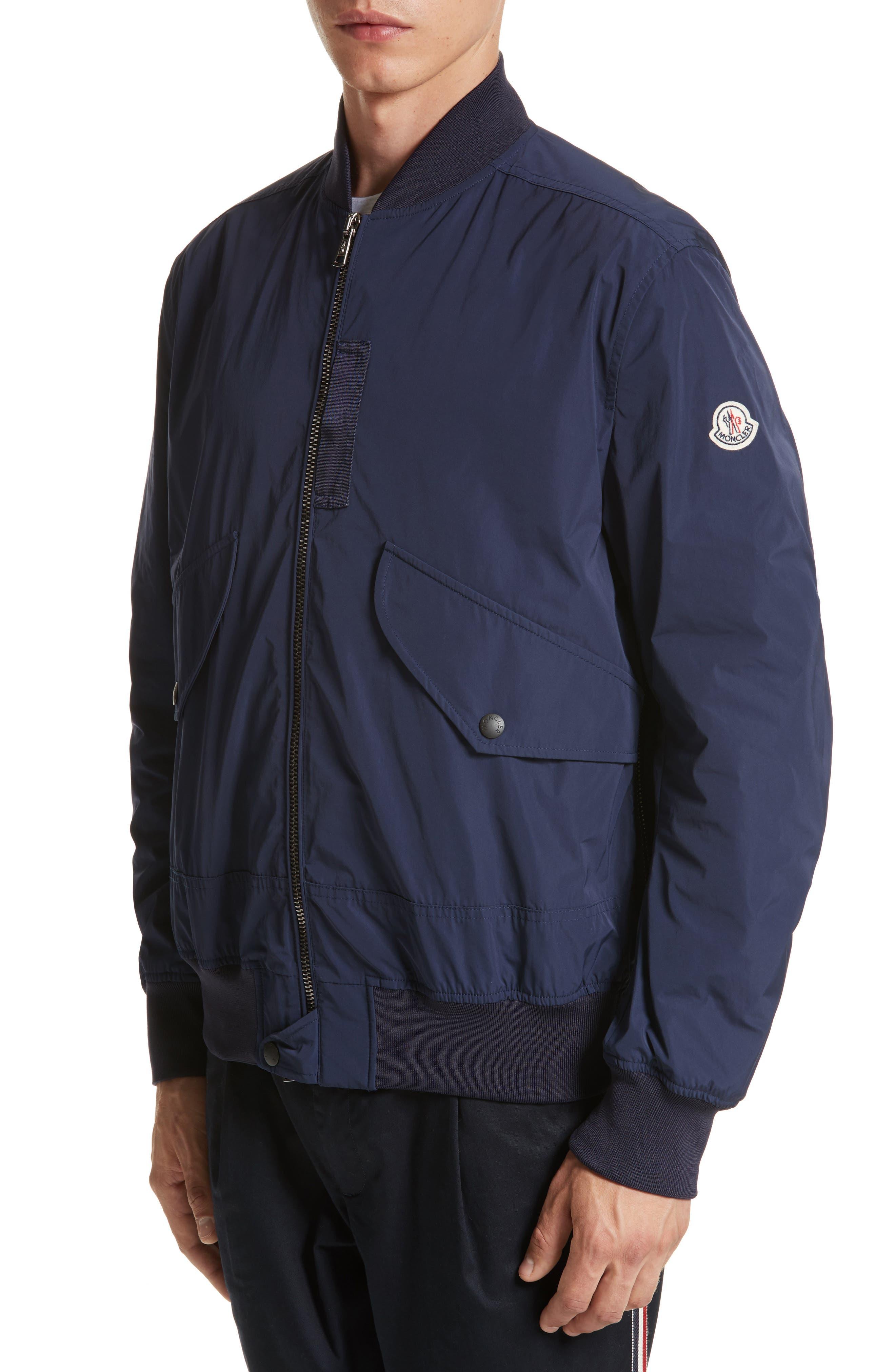 Artouste Bomber Jacket,                         Main,                         color, Navy