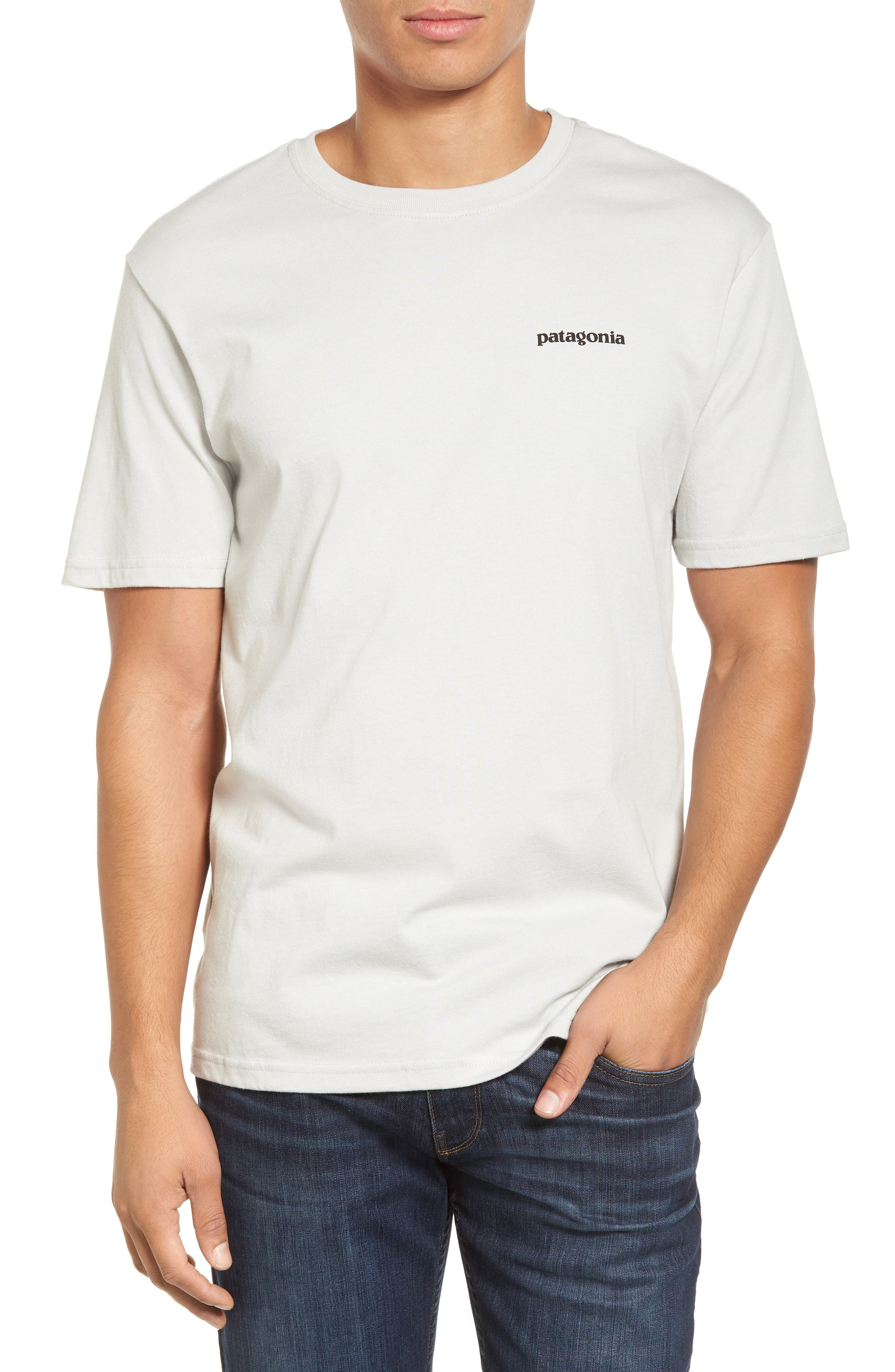 Alternate Image 1 Selected - Patagonia 'Trout Fitz Roy' Organic Cotton T-Shirt