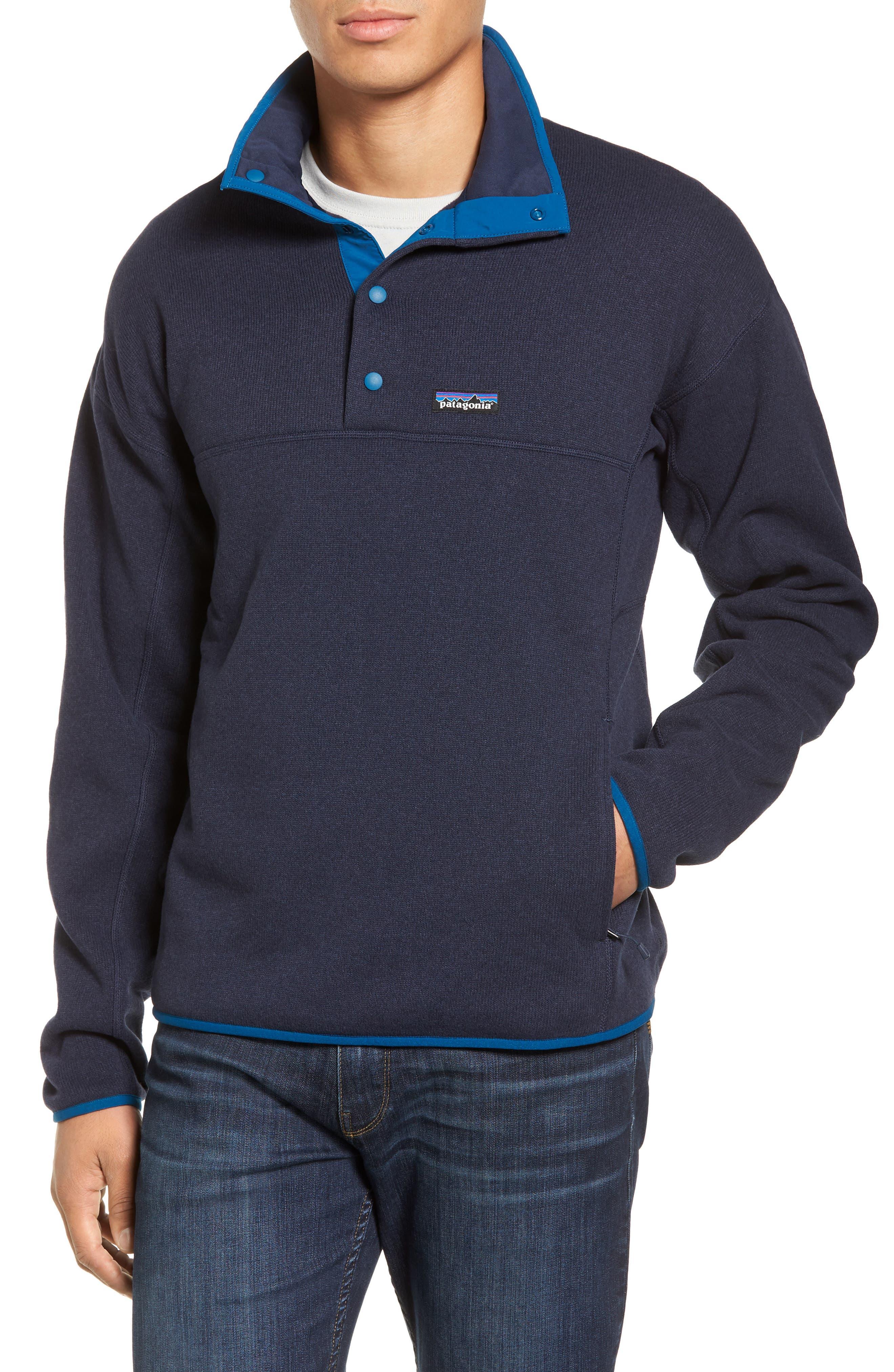Lightweight Better Sweater Pullover,                         Main,                         color, Navy Blue