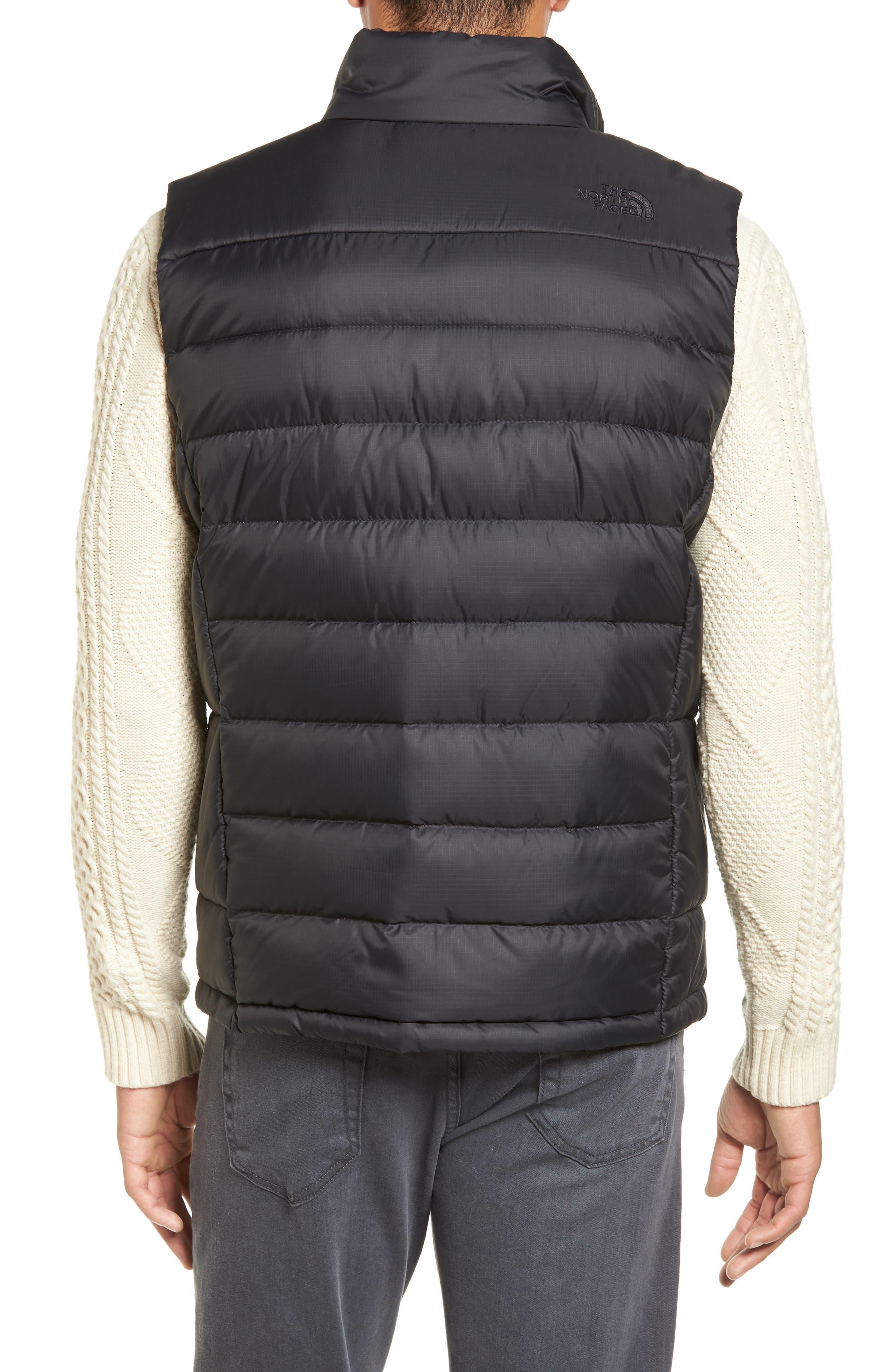 'Aconcagua' Goose Down Vest,                             Alternate thumbnail 2, color,                             Matte Black