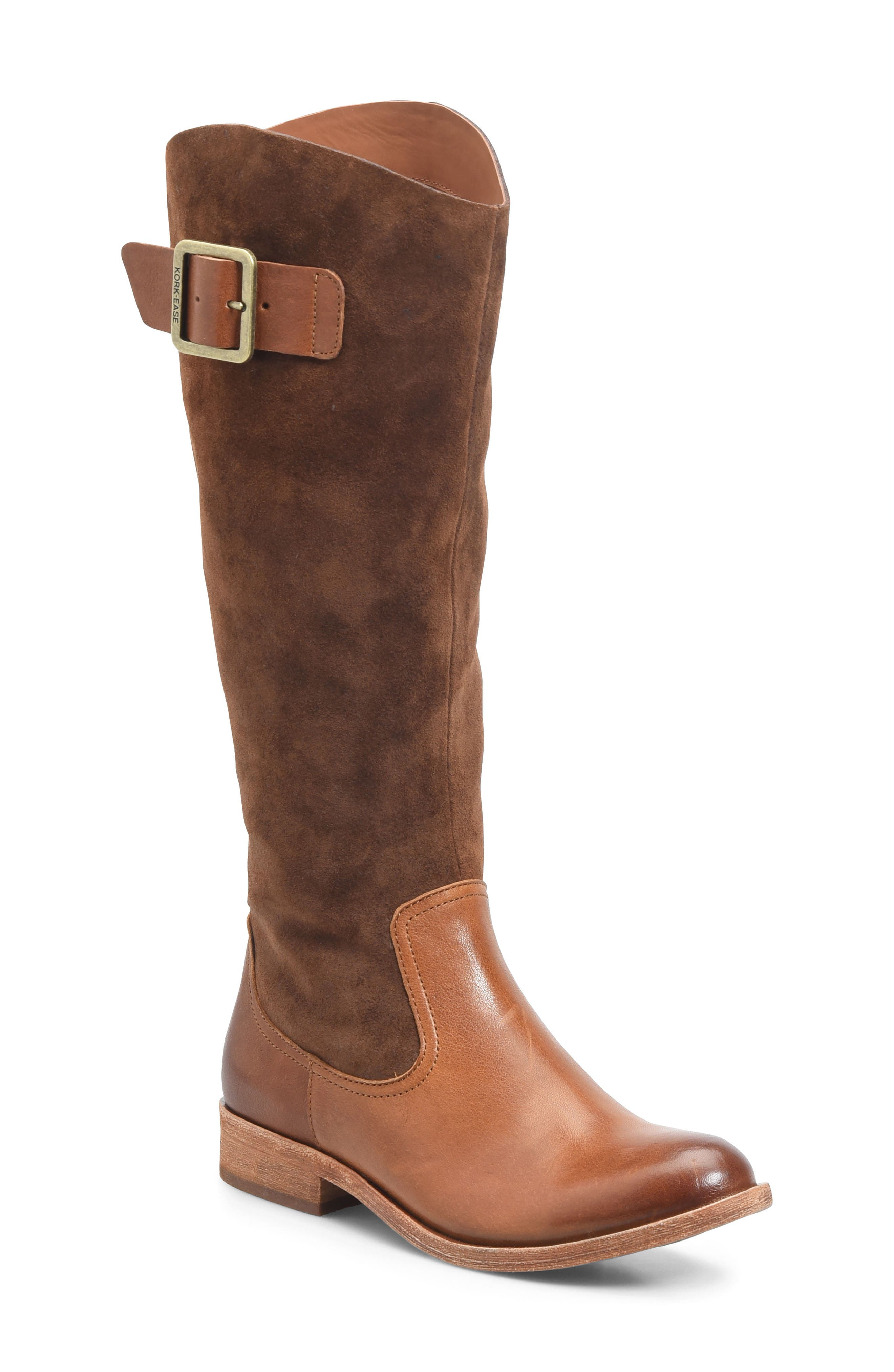 Kork-Ease® Rue Tall Boot (Women) (Wide Calf)