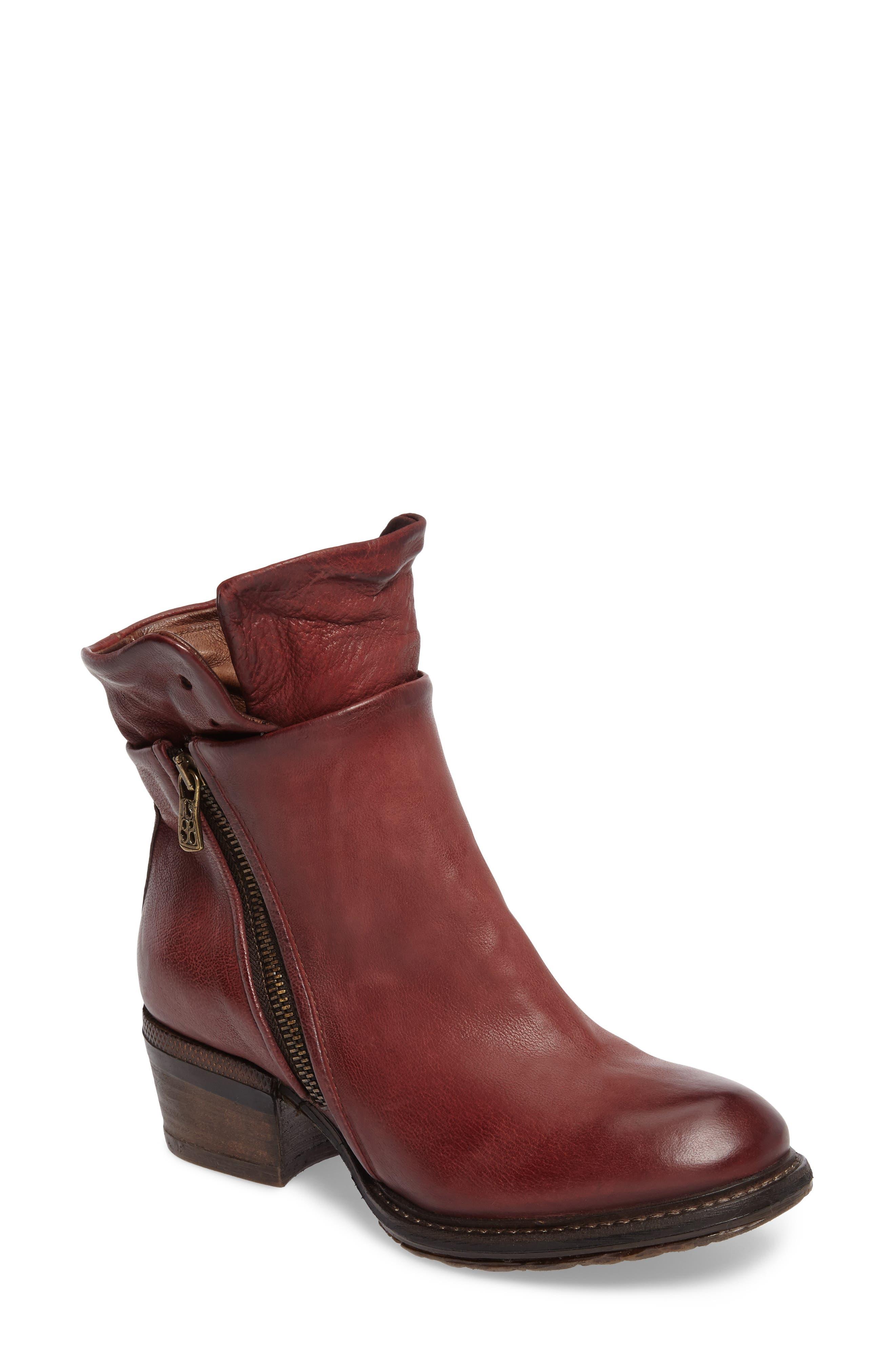 A.S. 98 Cadmus Boot,                             Main thumbnail 1, color,                             Amaranto