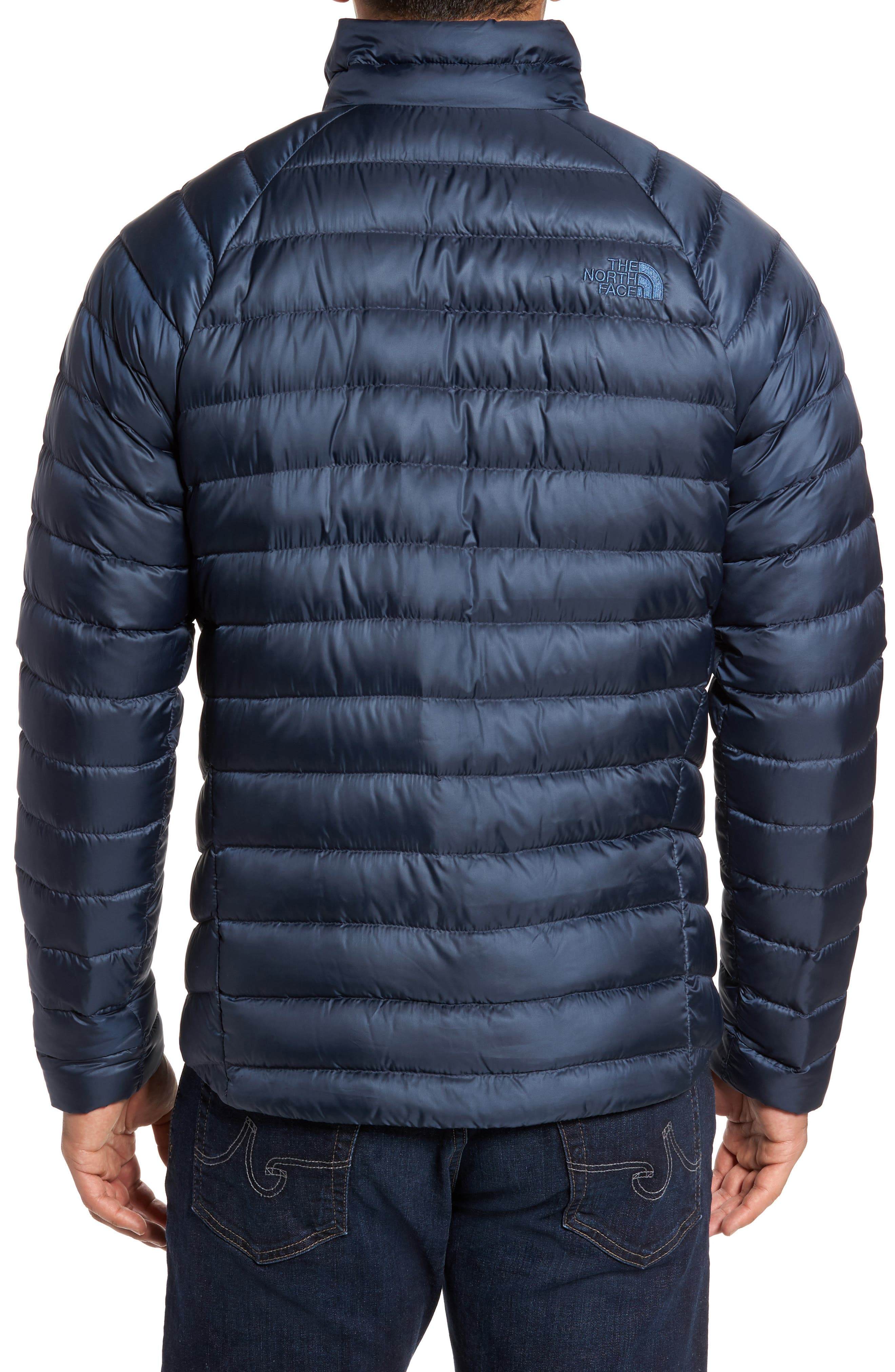 Trevail Water Repellent Packable Down Jacket,                             Alternate thumbnail 2, color,                             Urban Navy/ Urban Navy