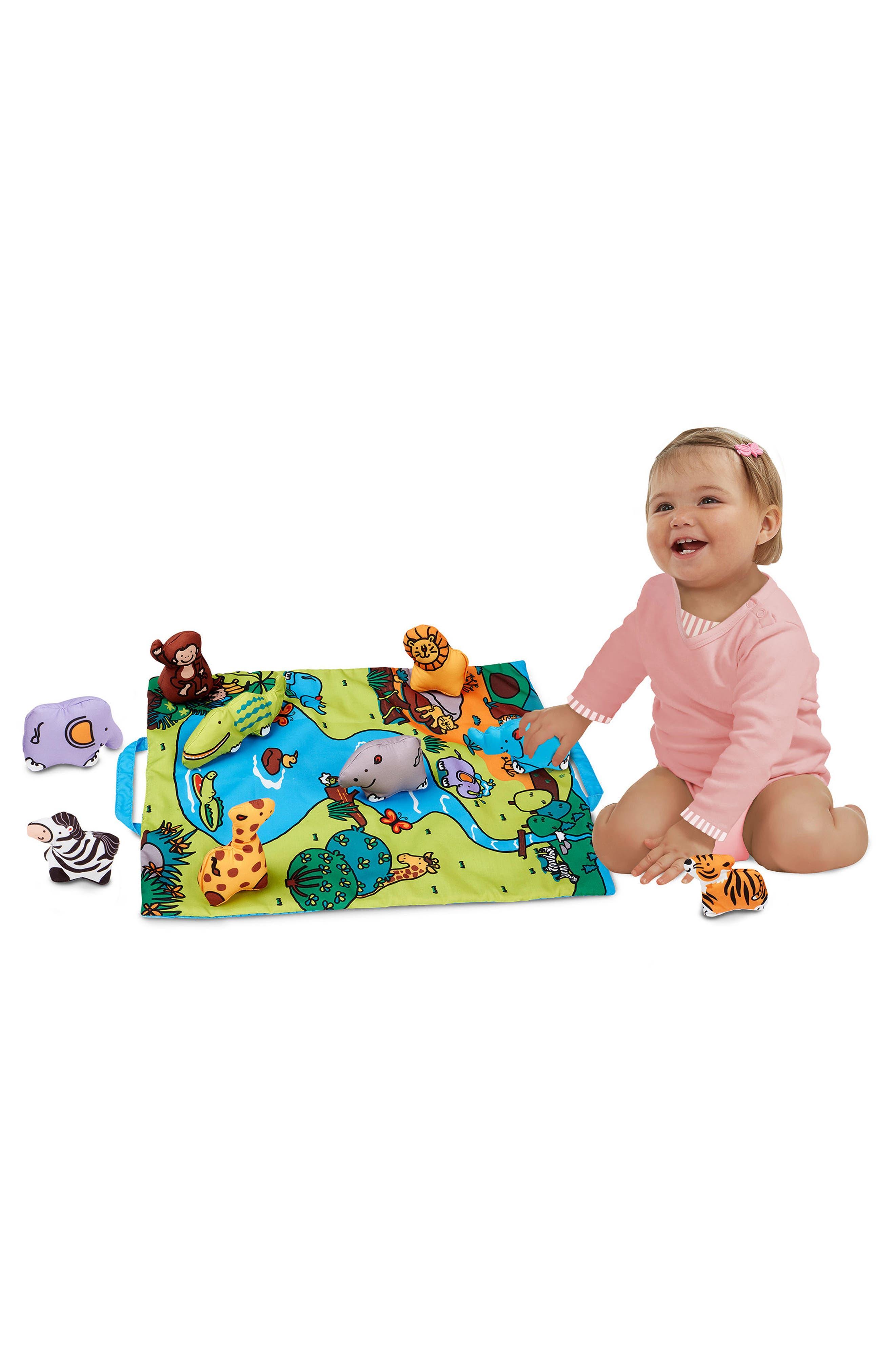 Take-Along Safari Play Mat,                             Alternate thumbnail 2, color,                             Beige