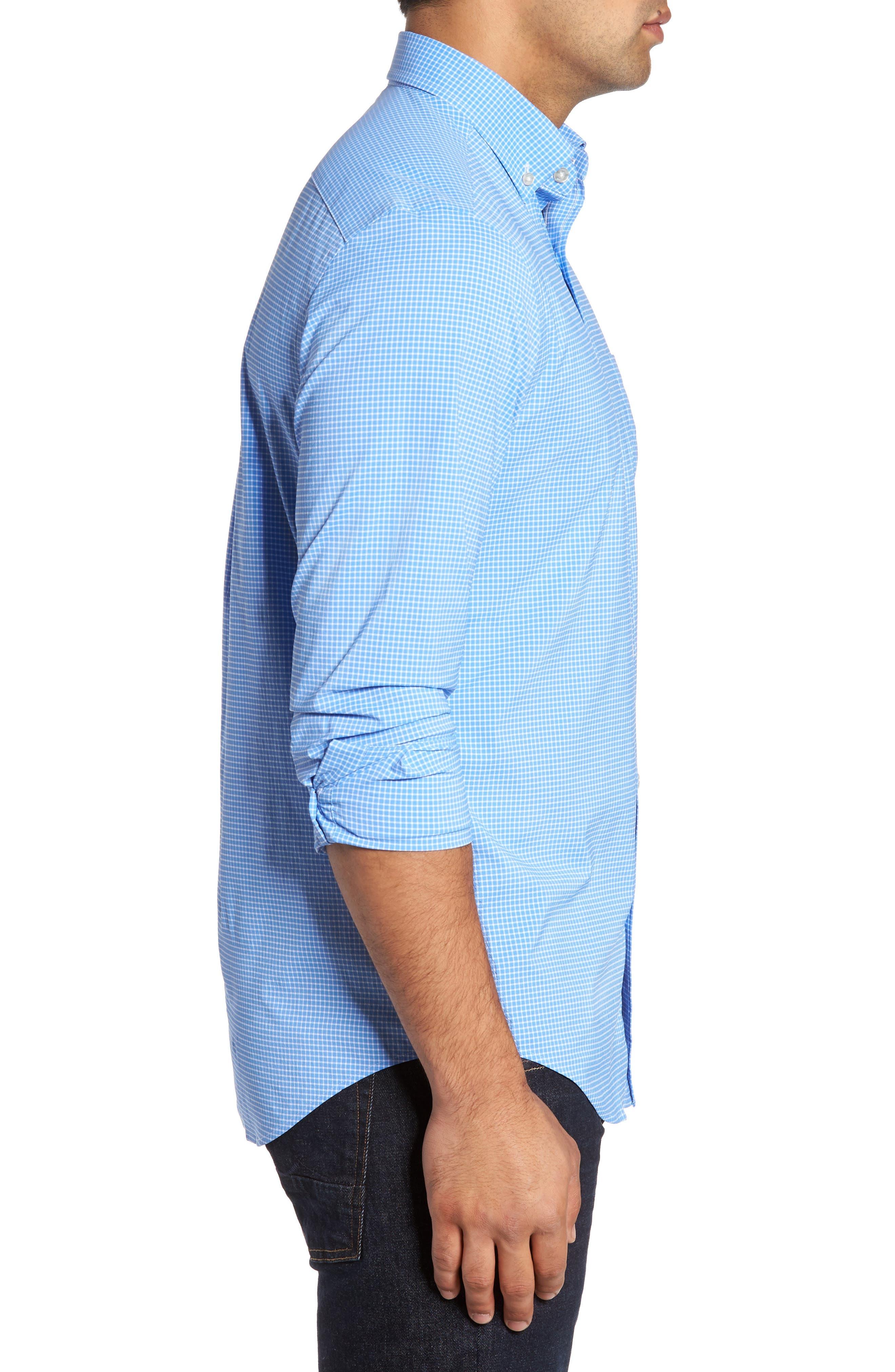 Alternate Image 4  - vineyard vines Anchor Row Classic Fit Check Sport Shirt